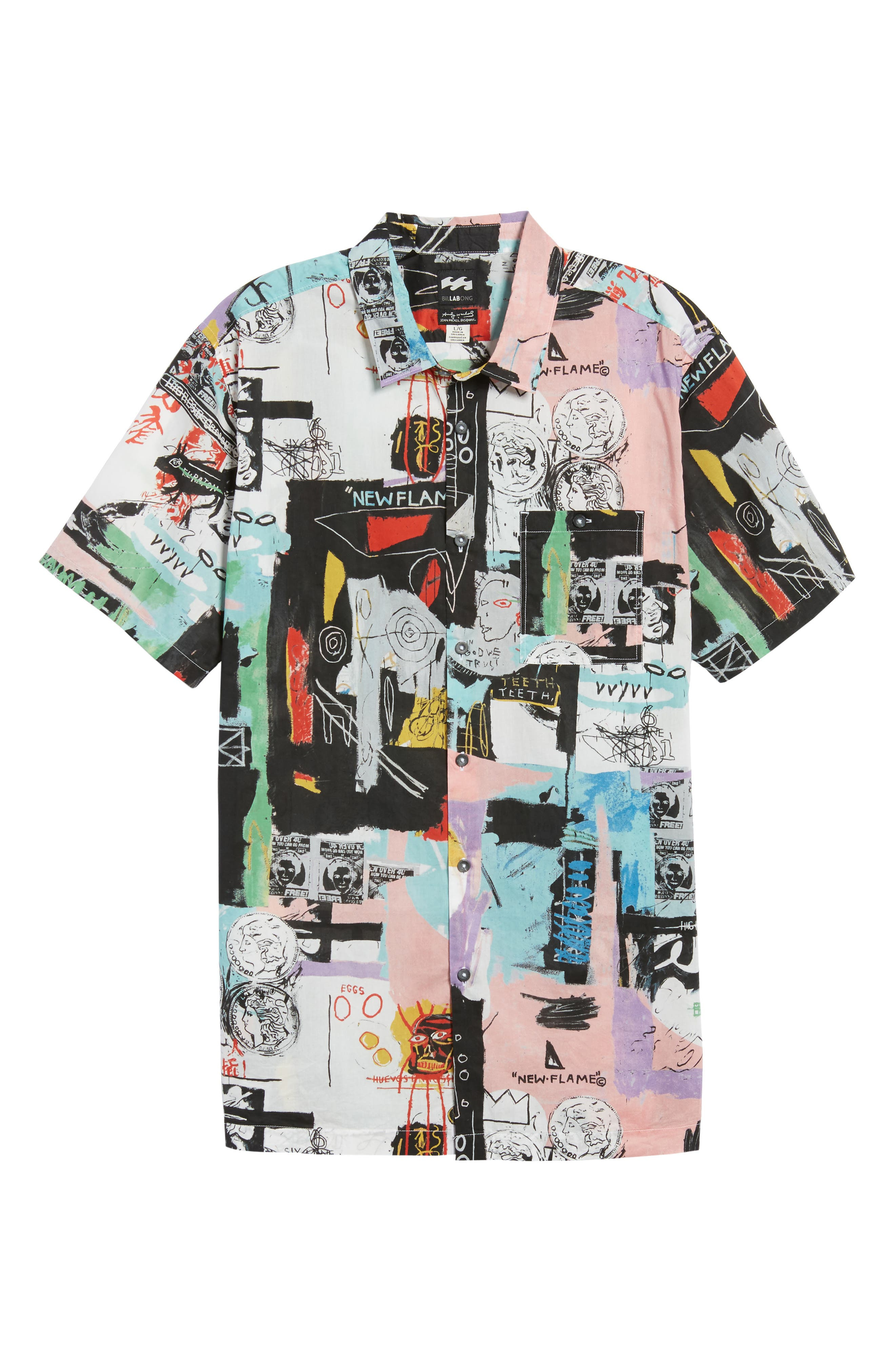 x Warhol Factory Shirt,                             Alternate thumbnail 6, color,                             001