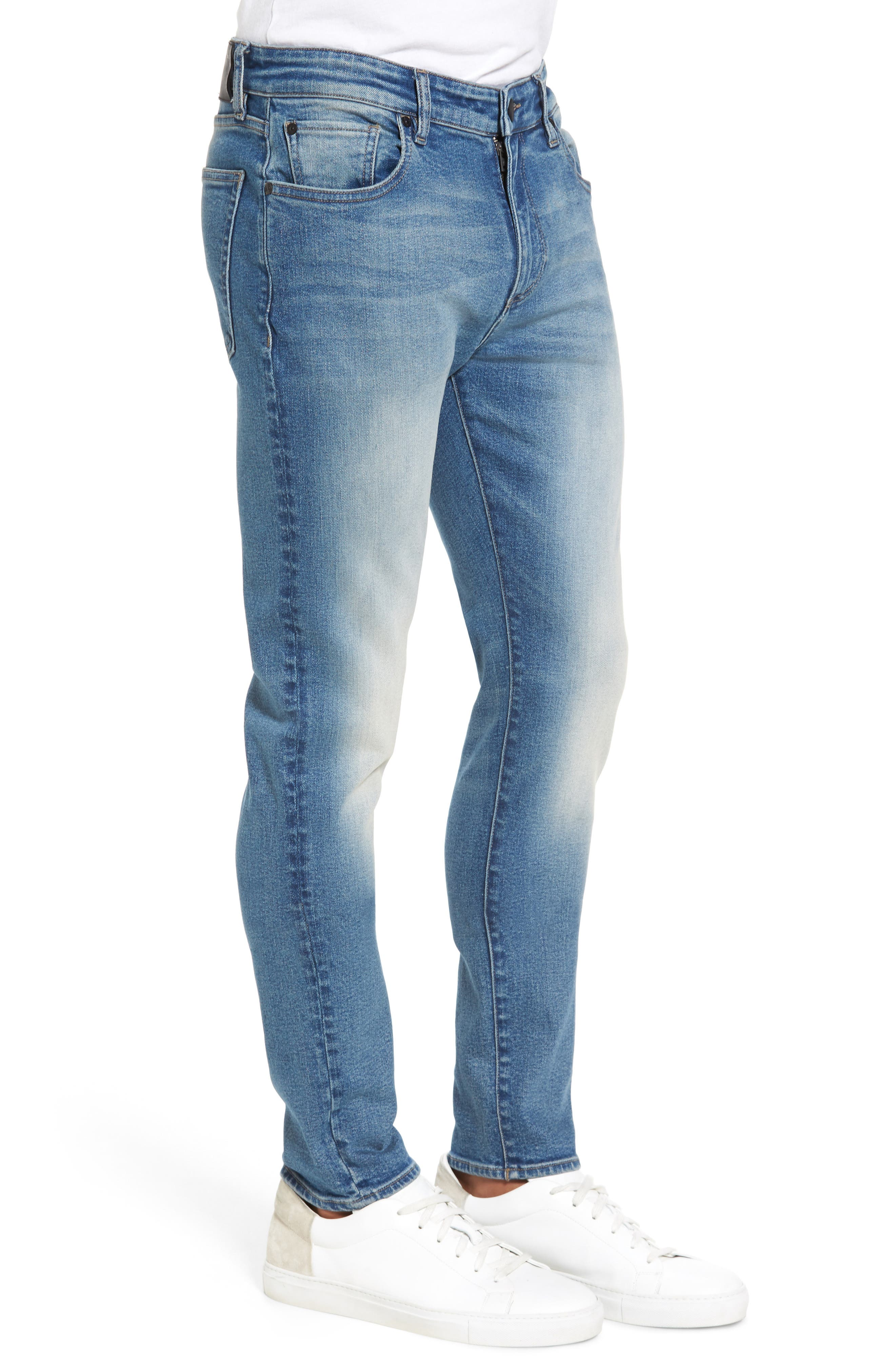 Hunter Skinny Jeans,                             Alternate thumbnail 3, color,                             HALT 2