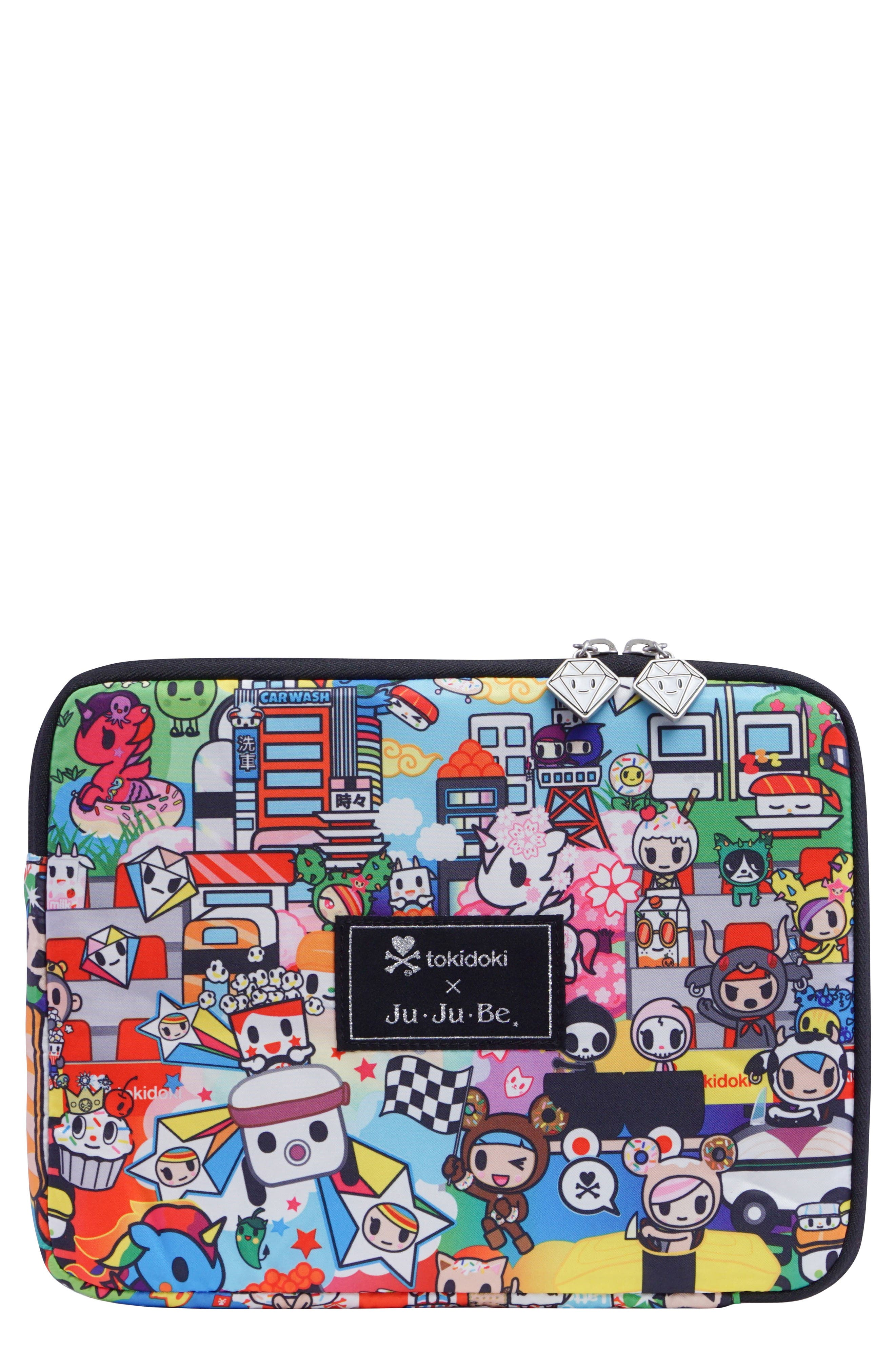 x tokidoki Micro Tech Tablet Case,                             Main thumbnail 1, color,                             SUSHI CARS