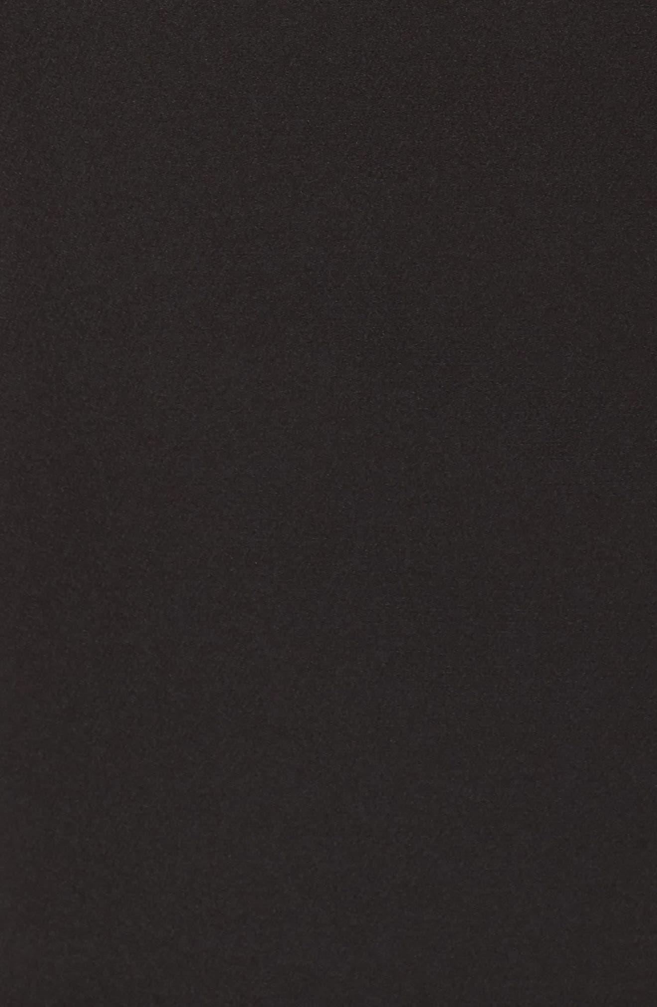 Dream Crepe Sheath Dress,                             Alternate thumbnail 6, color,                             001