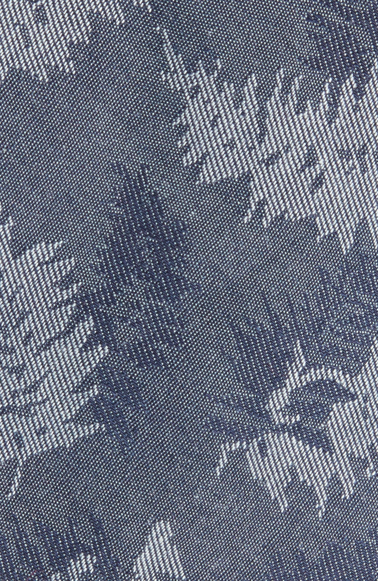 Jody Botanical Print Cotton Tie,                             Alternate thumbnail 2, color,                             410