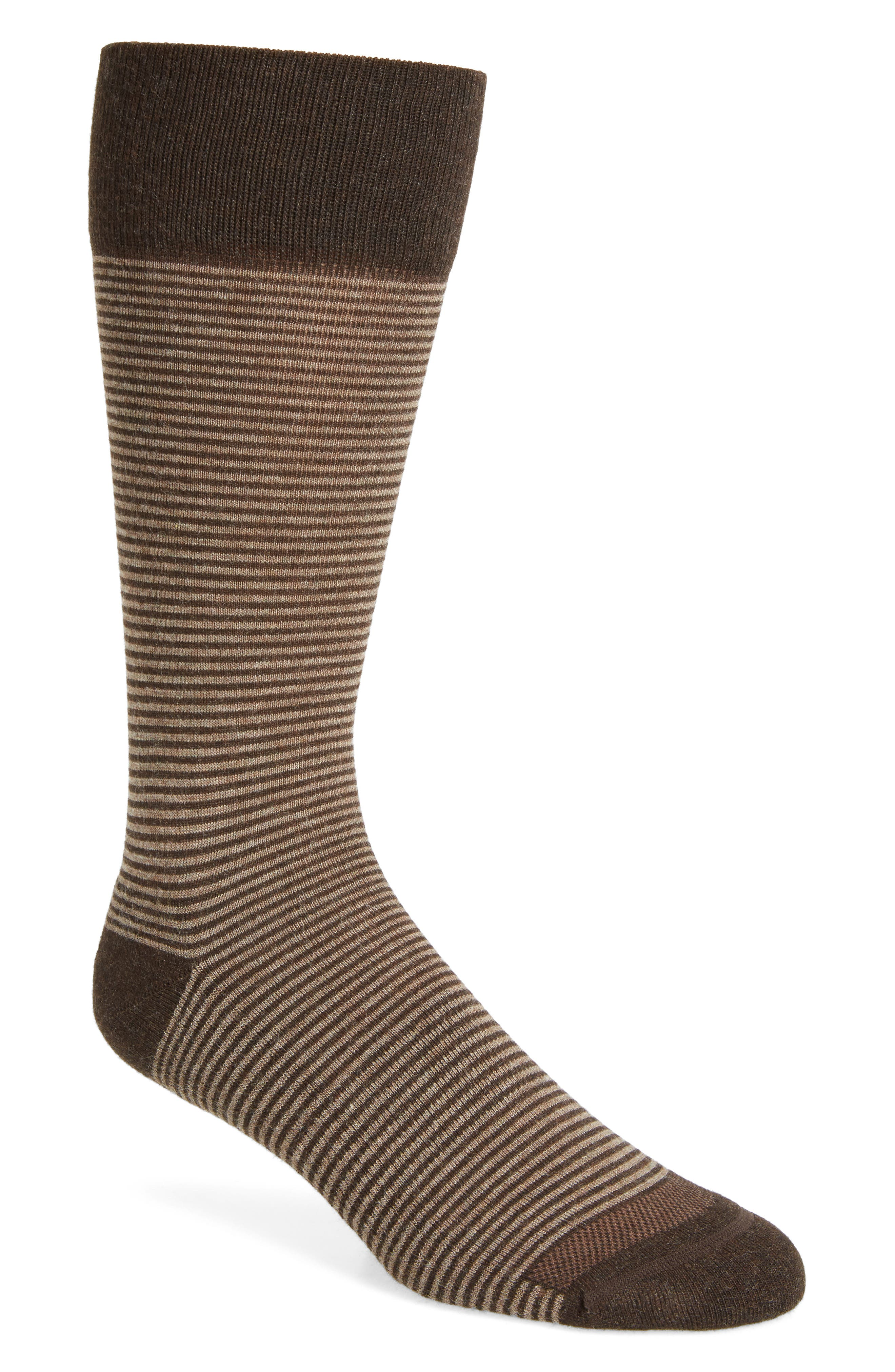 Feeder Stripe Socks,                             Alternate thumbnail 21, color,