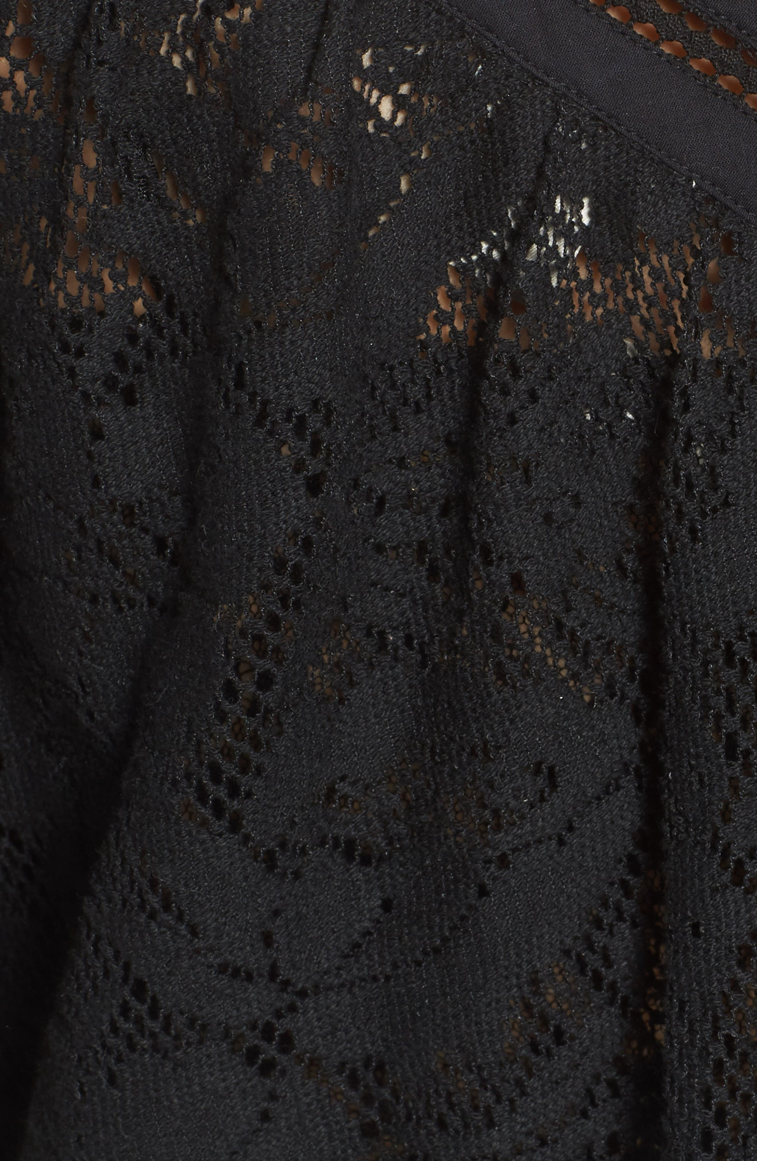 Lace Top,                             Alternate thumbnail 5, color,                             001