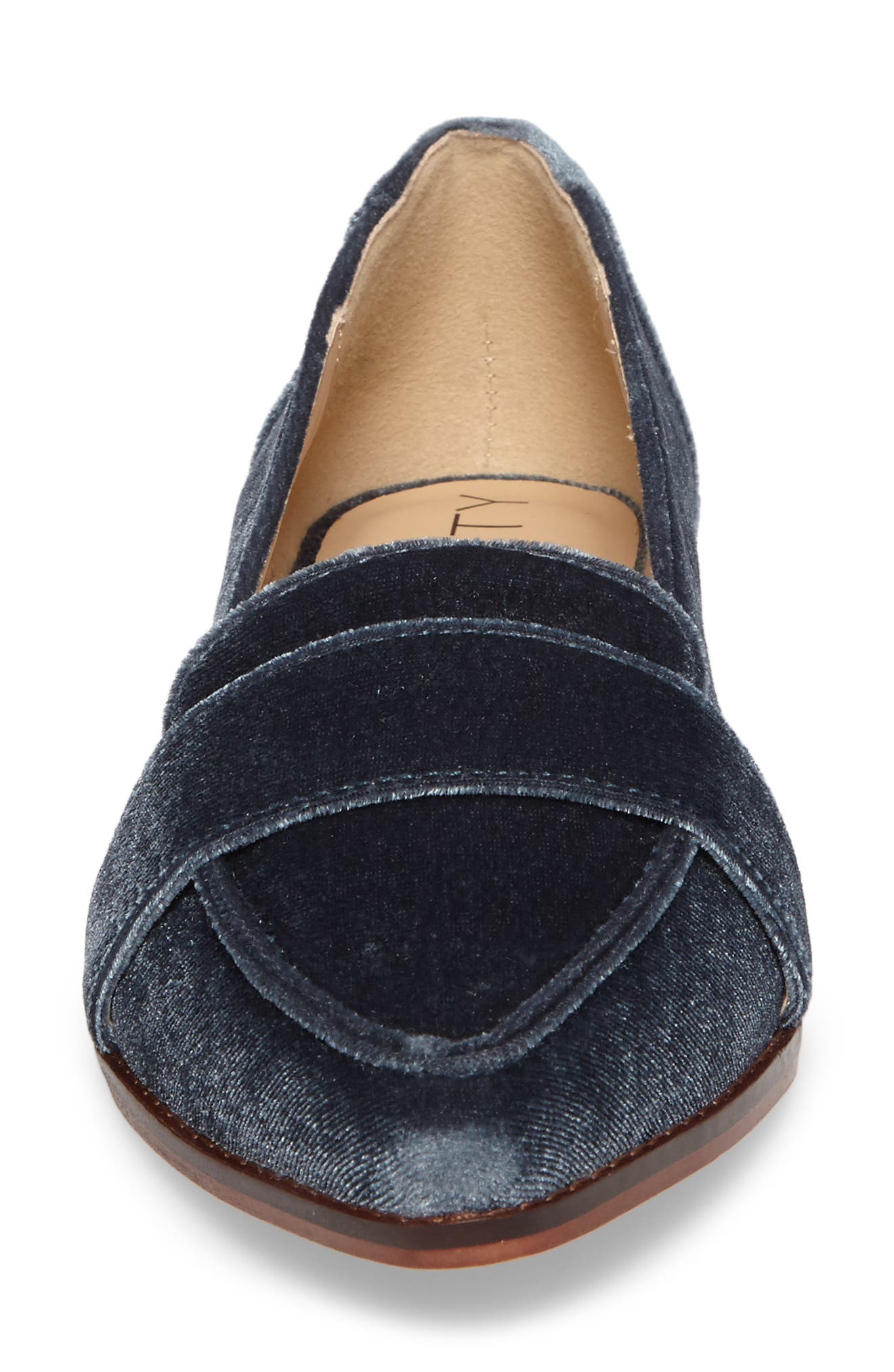 Edie Pointy Toe Loafer,                             Alternate thumbnail 40, color,