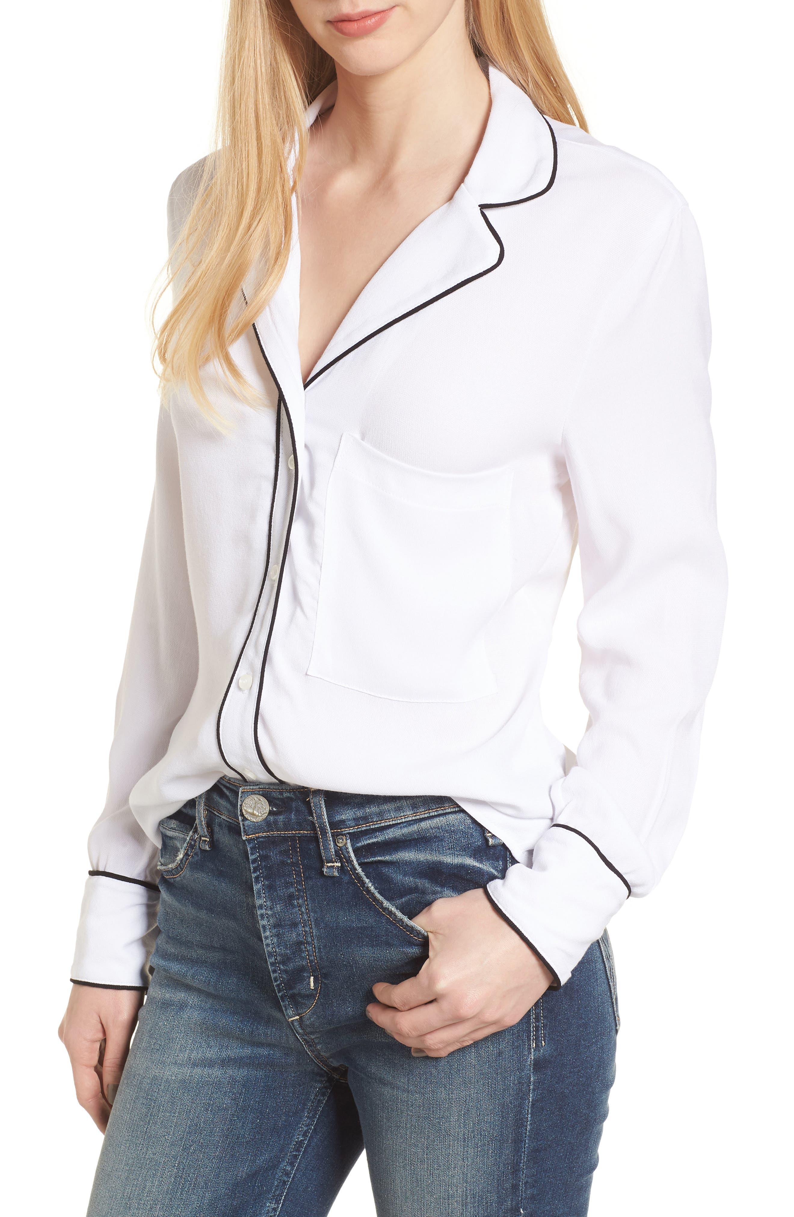 Rossi Pajama Top,                         Main,                         color, 100