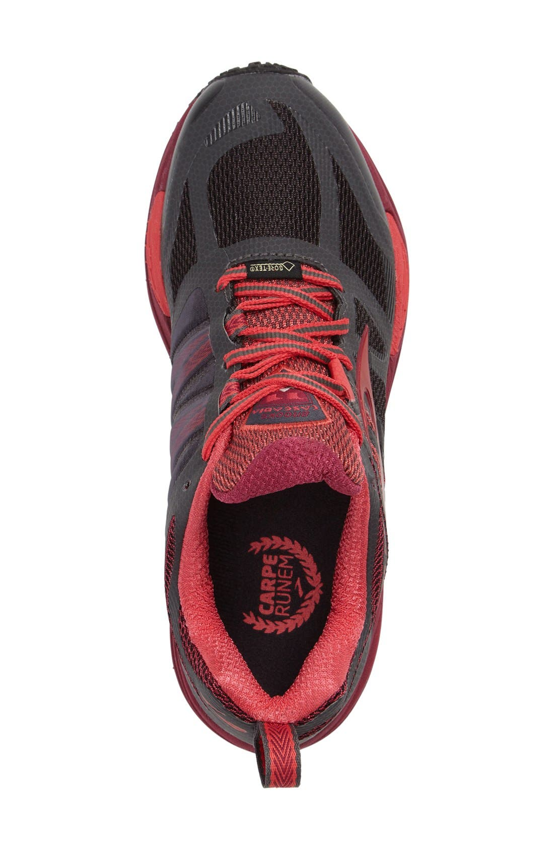 BROOKS,                             Cascadia 11 GTX Trail Running Shoe,                             Alternate thumbnail 3, color,                             020