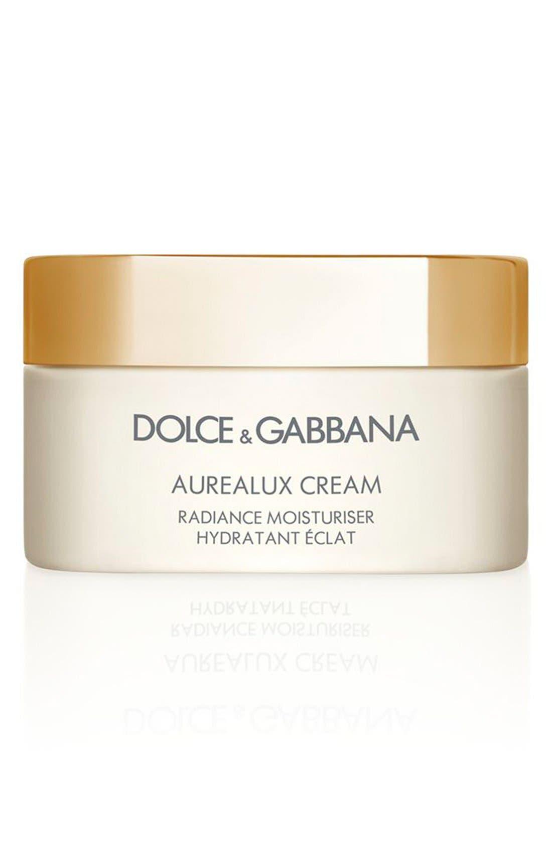 Dolce&GabbanaBeauty 'Aurealux' Cream Radiance Moisturizer,                             Main thumbnail 1, color,