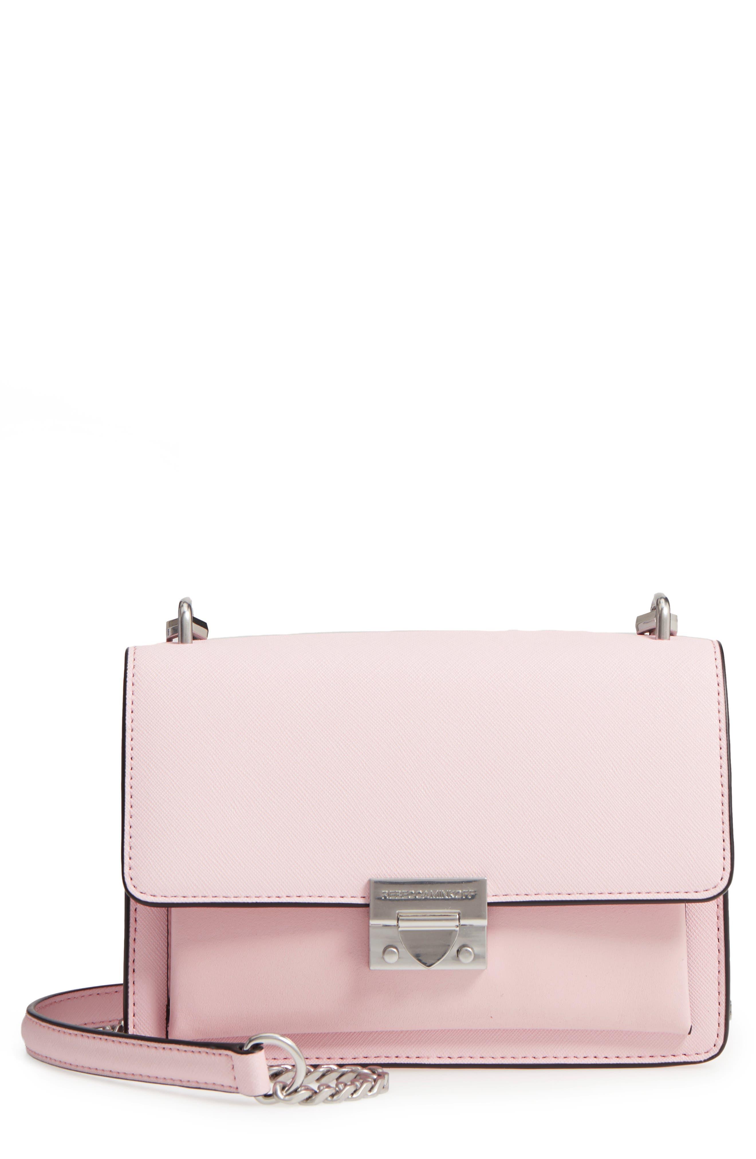 Medium Christy Leather Shoulder Bag,                             Main thumbnail 5, color,