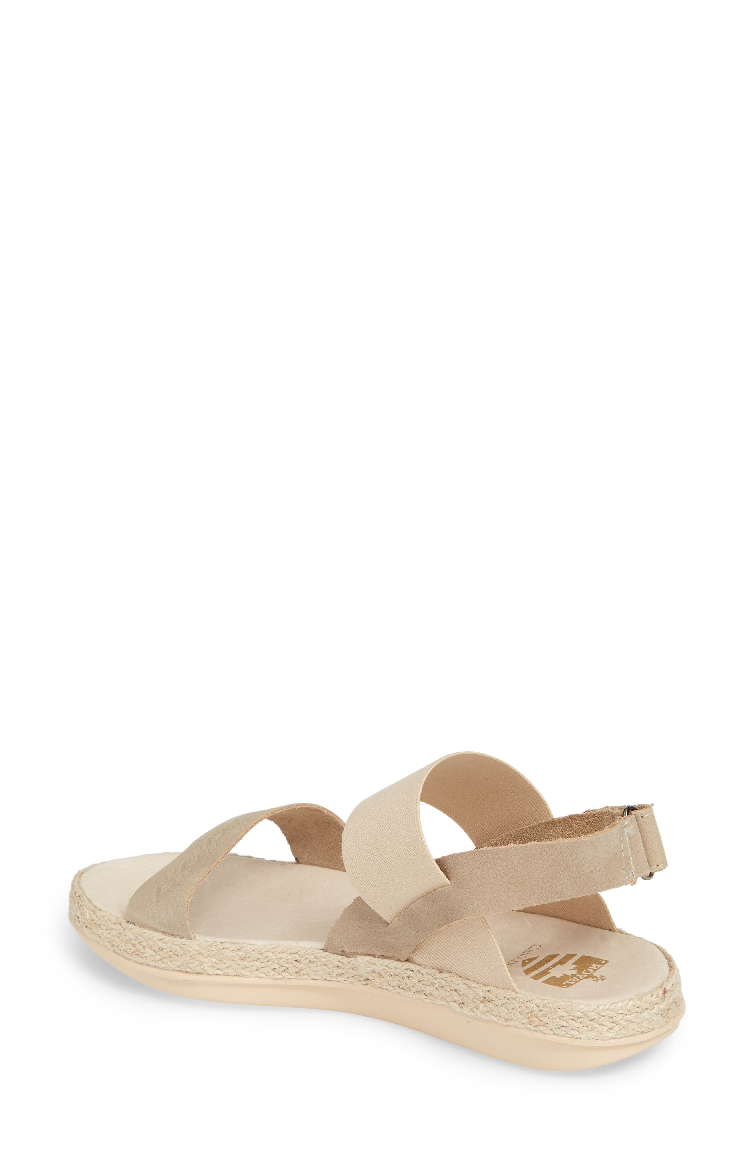 Tobermory Sandal,                             Alternate thumbnail 2, color,                             TAUPE LEATHER