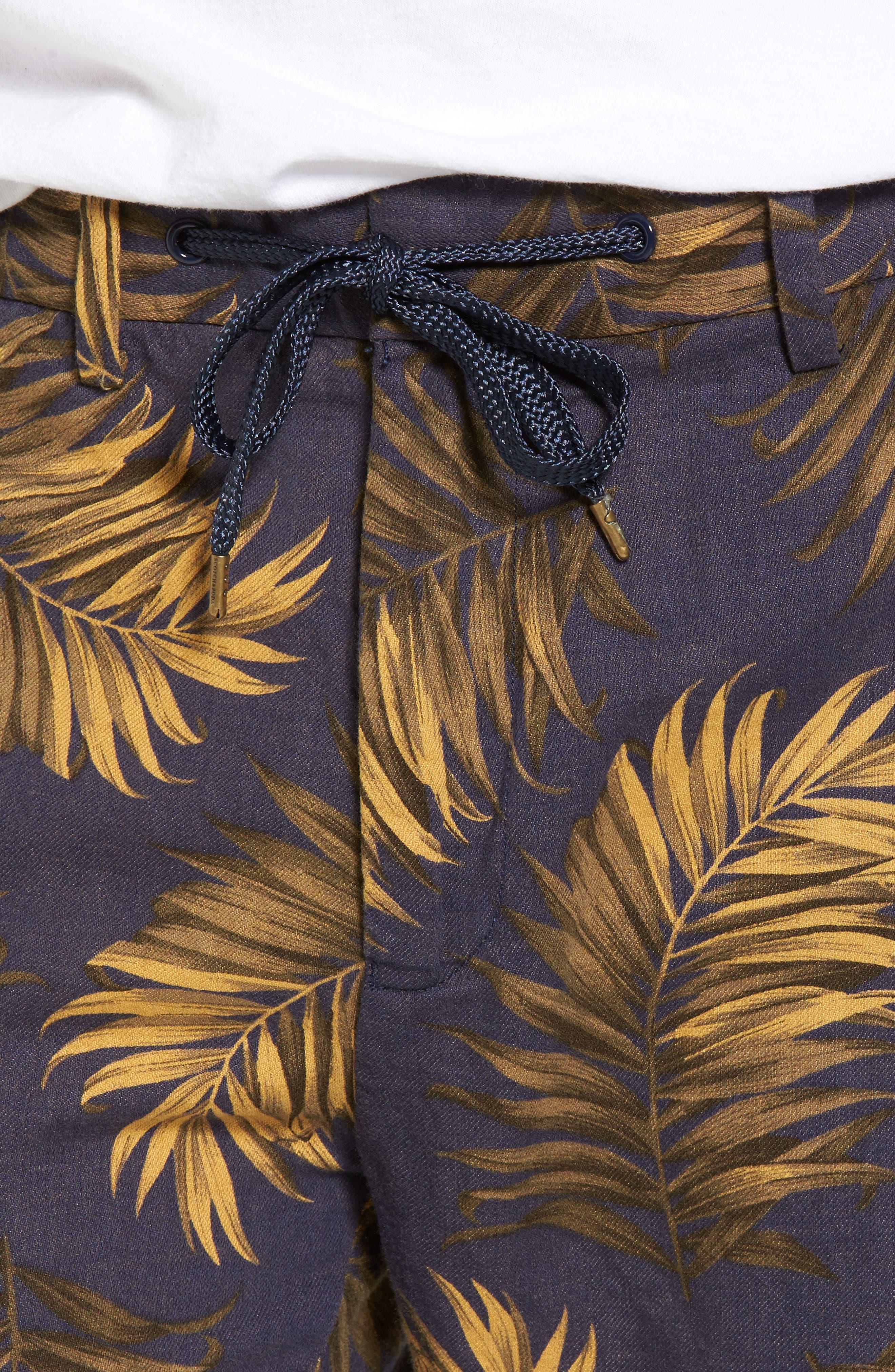 Linen Beach Pants,                             Alternate thumbnail 4, color,                             200