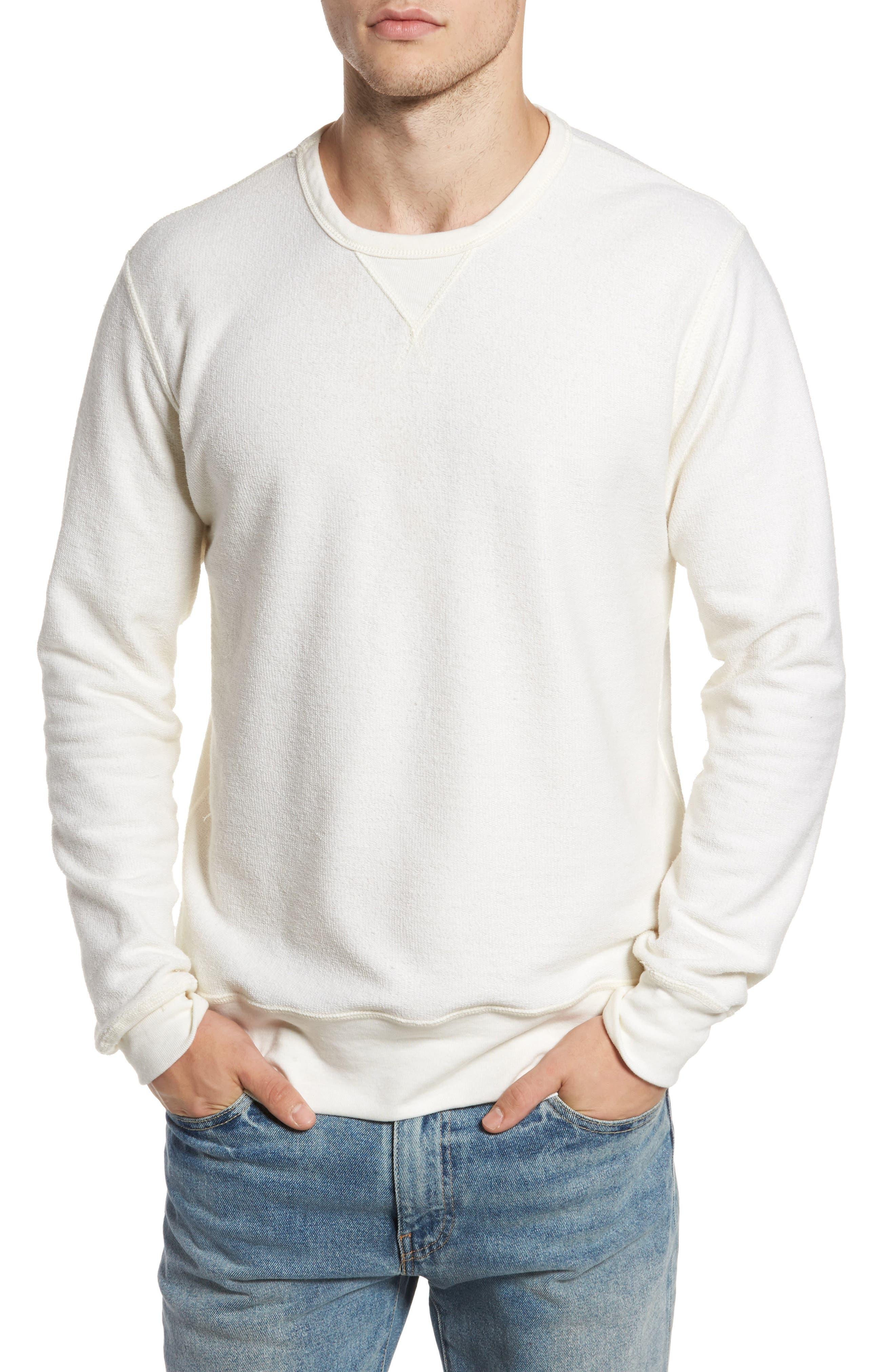 B-Side Reversible Crewneck Sweatshirt,                             Alternate thumbnail 24, color,
