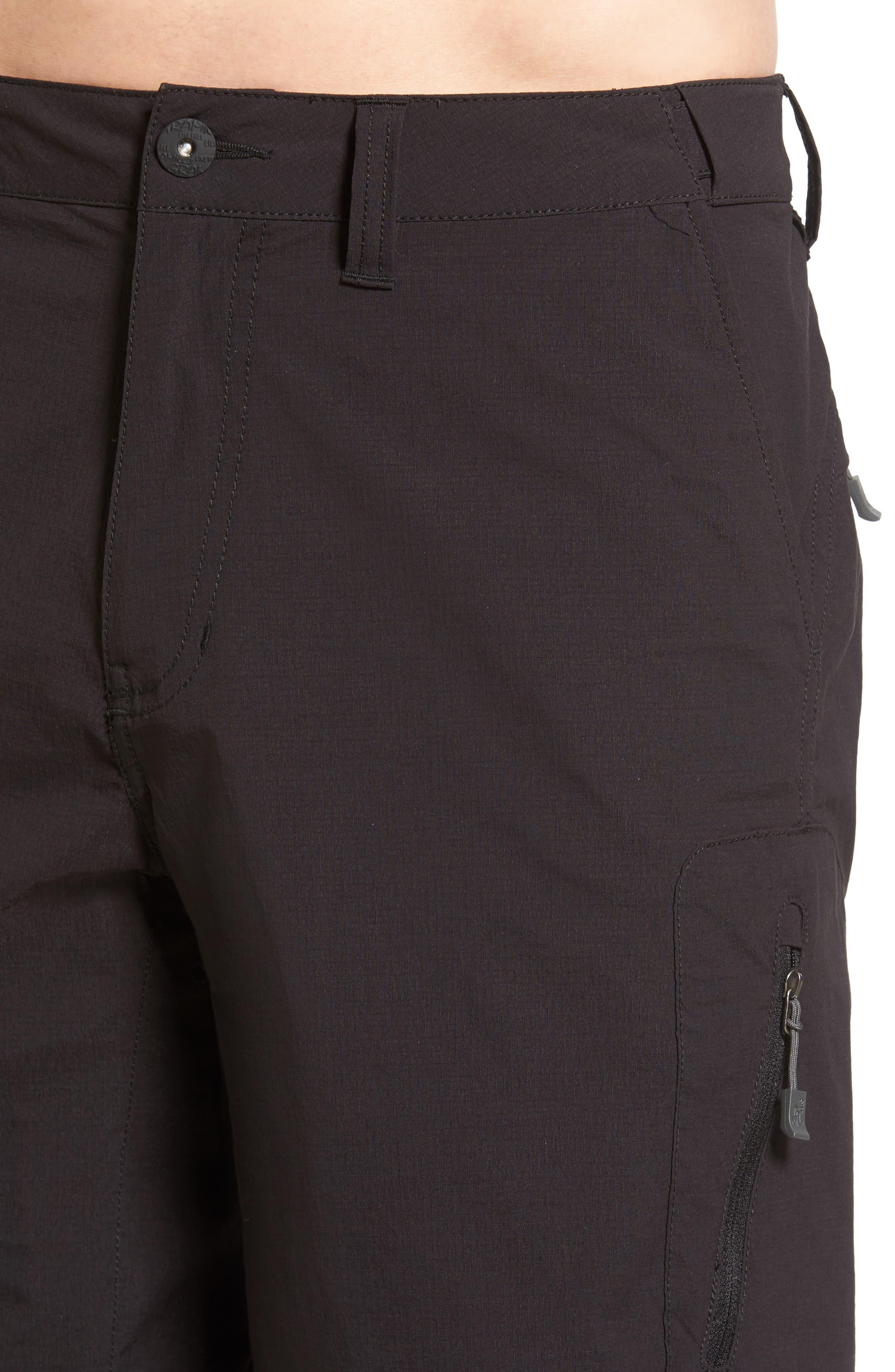 Rough & Tumble Hiking Shorts,                             Alternate thumbnail 4, color,                             002