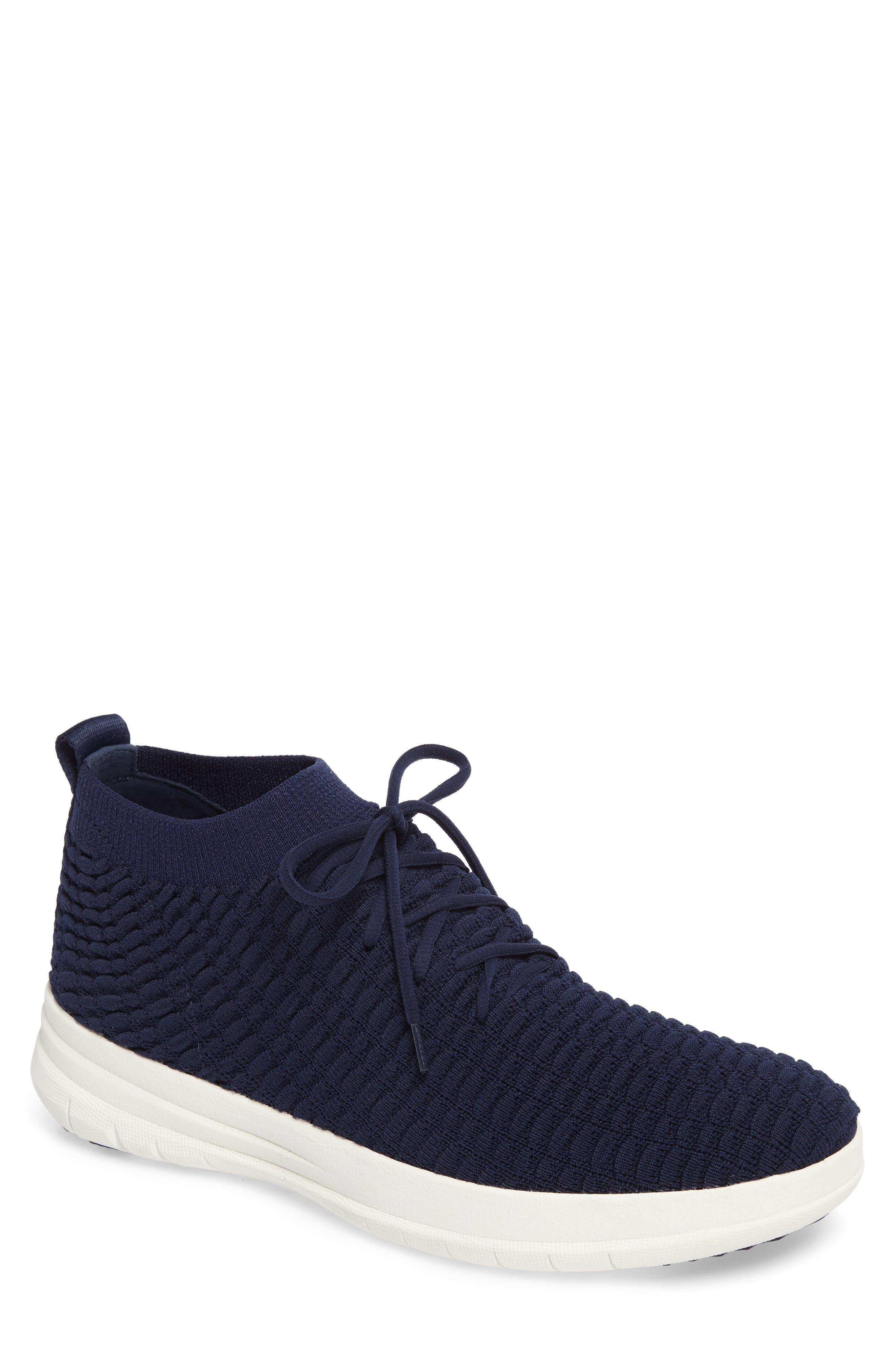 Uberknit Sneaker,                         Main,                         color, DARK SAPPHIRE TEXTILE