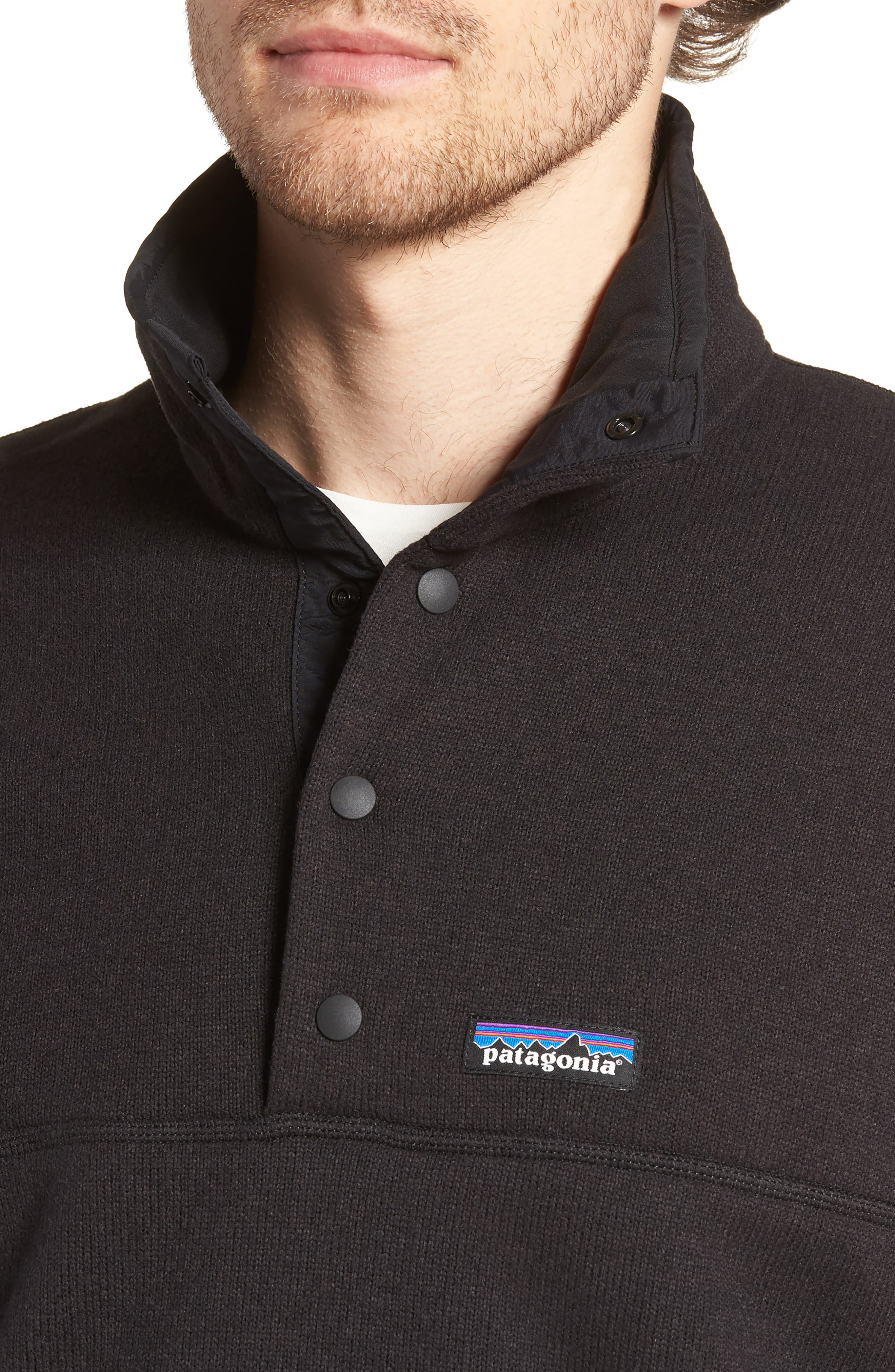 PATAGONIA,                             Lightweight Better Sweater Pullover,                             Alternate thumbnail 4, color,                             001