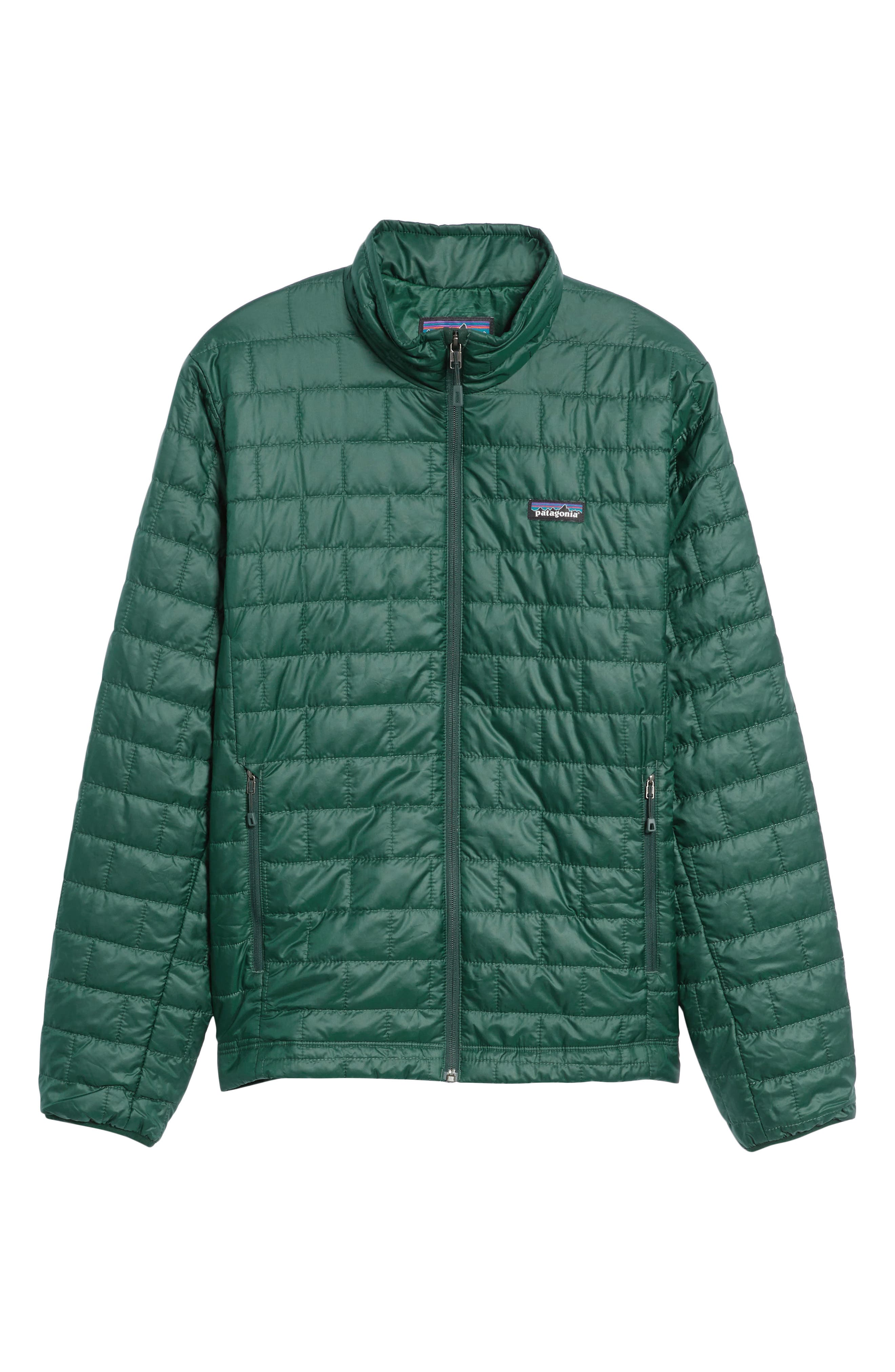 'Nano Puff<sup>®</sup>' Water Resistant Jacket,                             Alternate thumbnail 6, color,                             MICRO GREEN
