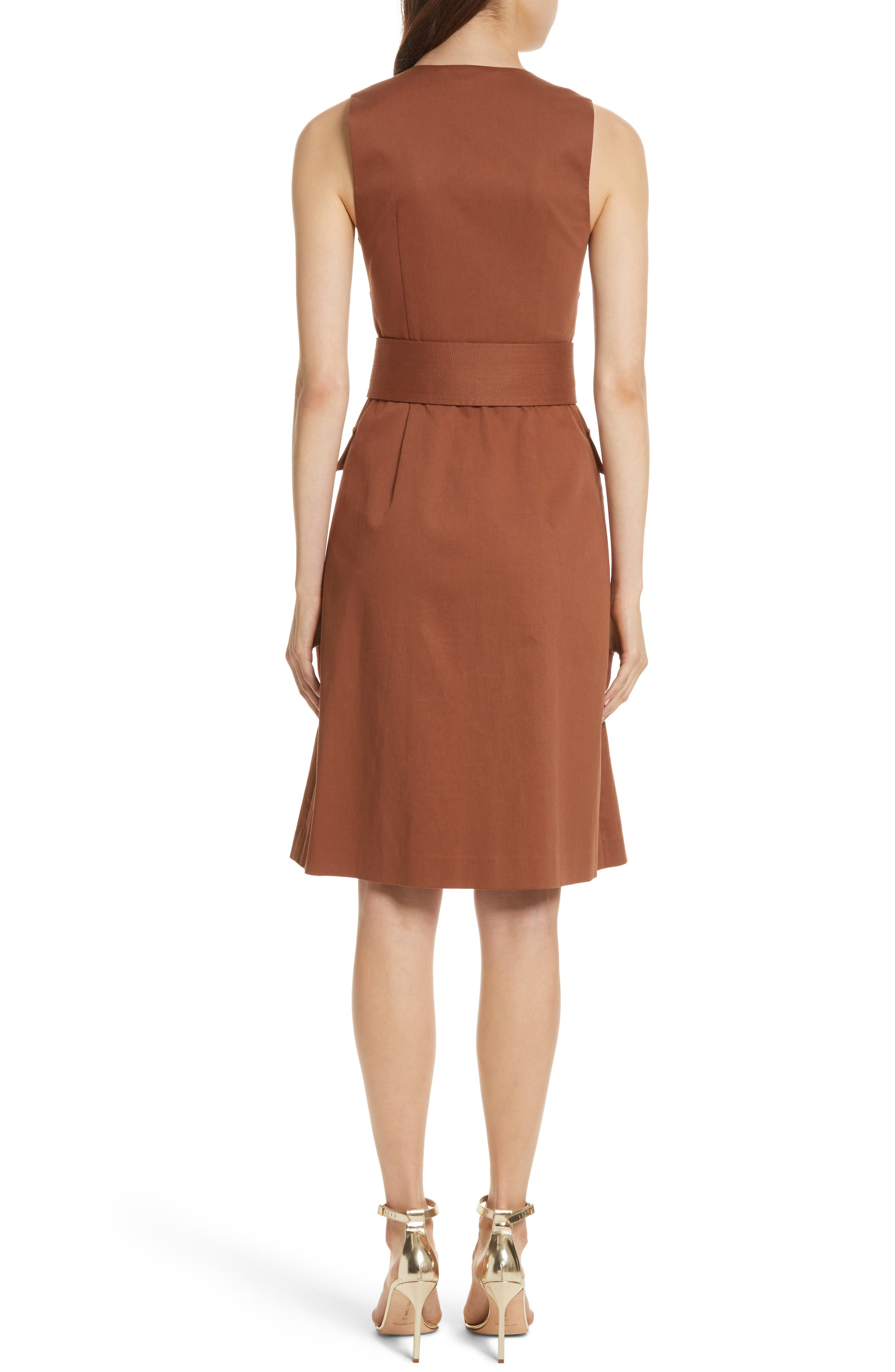 Diane von Furstenberg Zip Front Dress,                             Alternate thumbnail 2, color,                             203