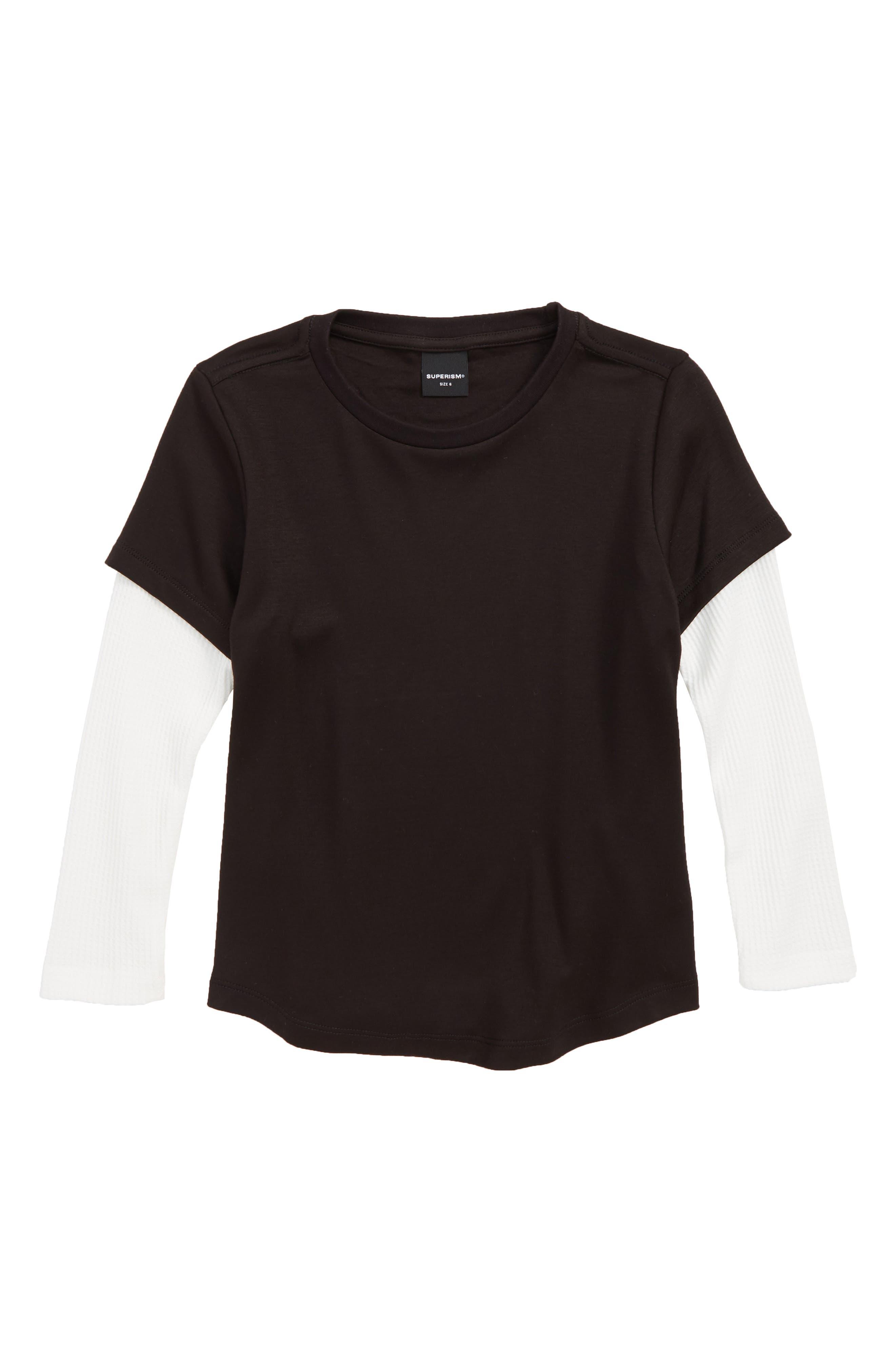 James T-Shirt,                         Main,                         color, BLACK