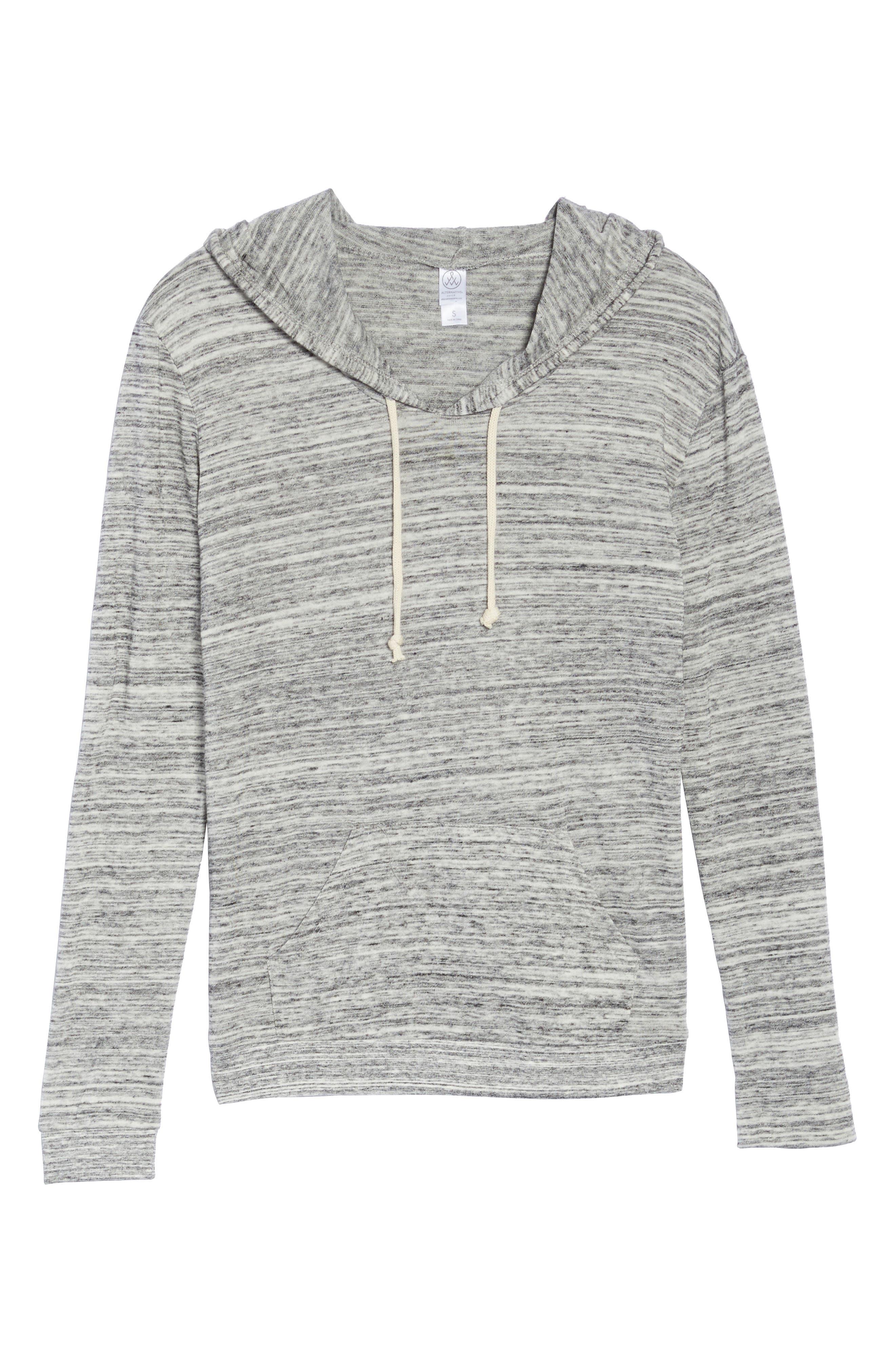 Mottled Pullover Hoodie,                             Alternate thumbnail 6, color,                             061