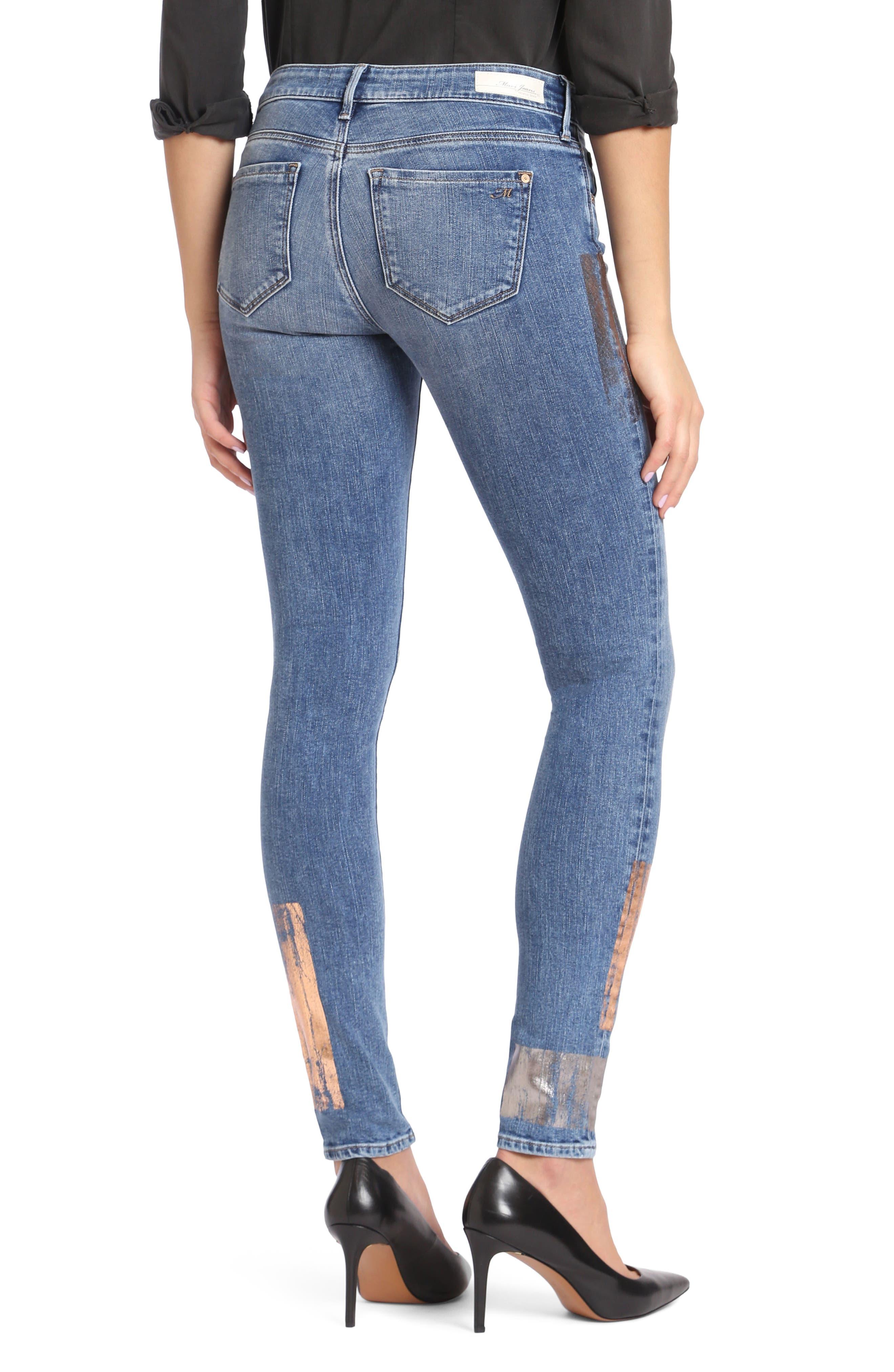 Adriana Stretch Skinny Jeans,                             Alternate thumbnail 2, color,                             420