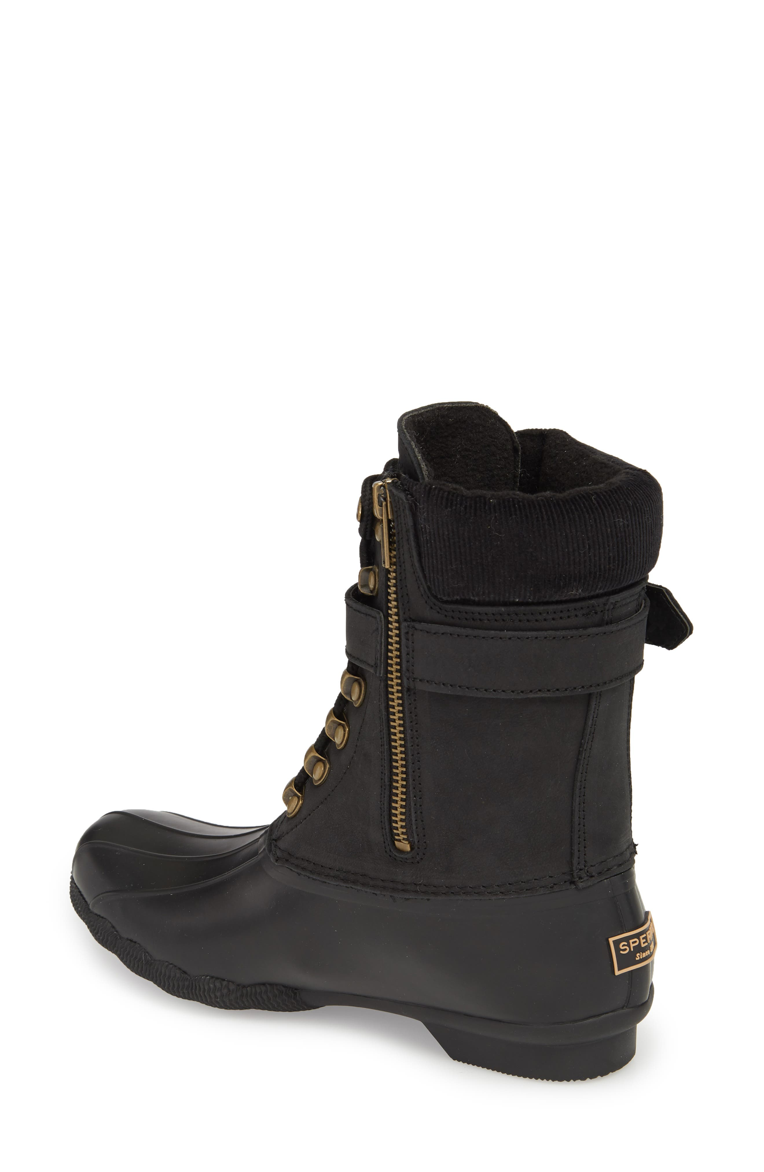 Shearwater Water-Resistant Genuine Shearling Lined Boot,                             Alternate thumbnail 6, color,