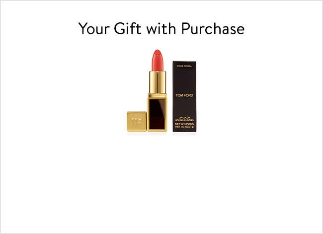 Tom Ford gift with purchase.