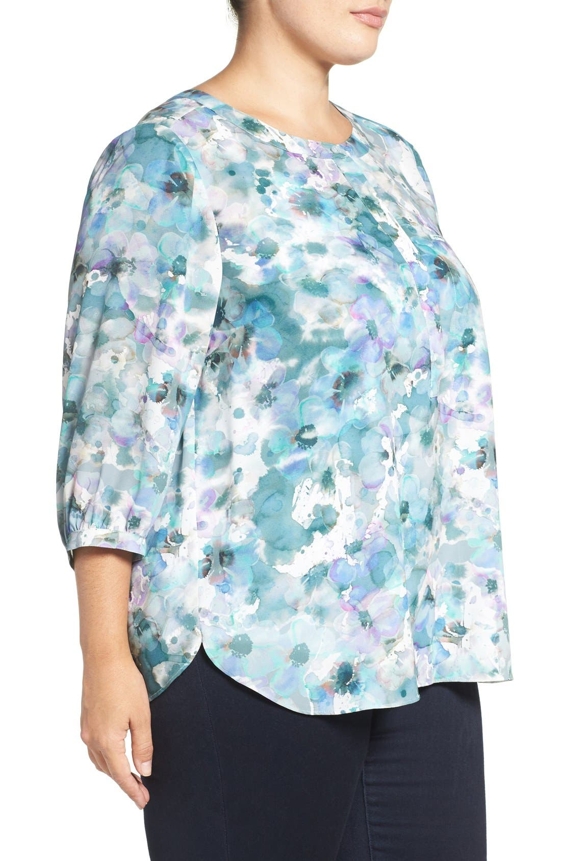 Henley Top,                             Alternate thumbnail 218, color,