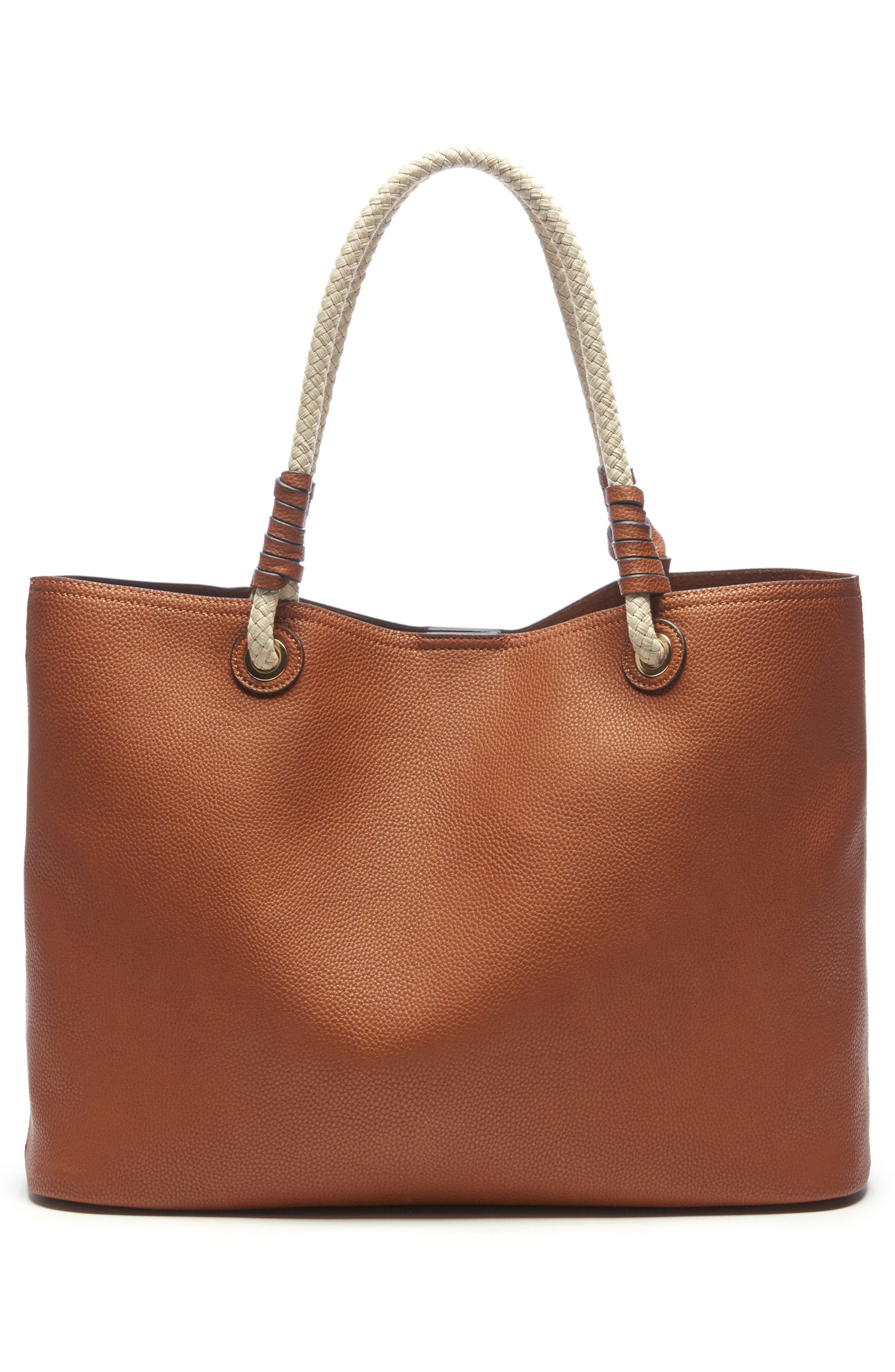 Faux Leather Oversize Tote,                             Alternate thumbnail 2, color,                             230