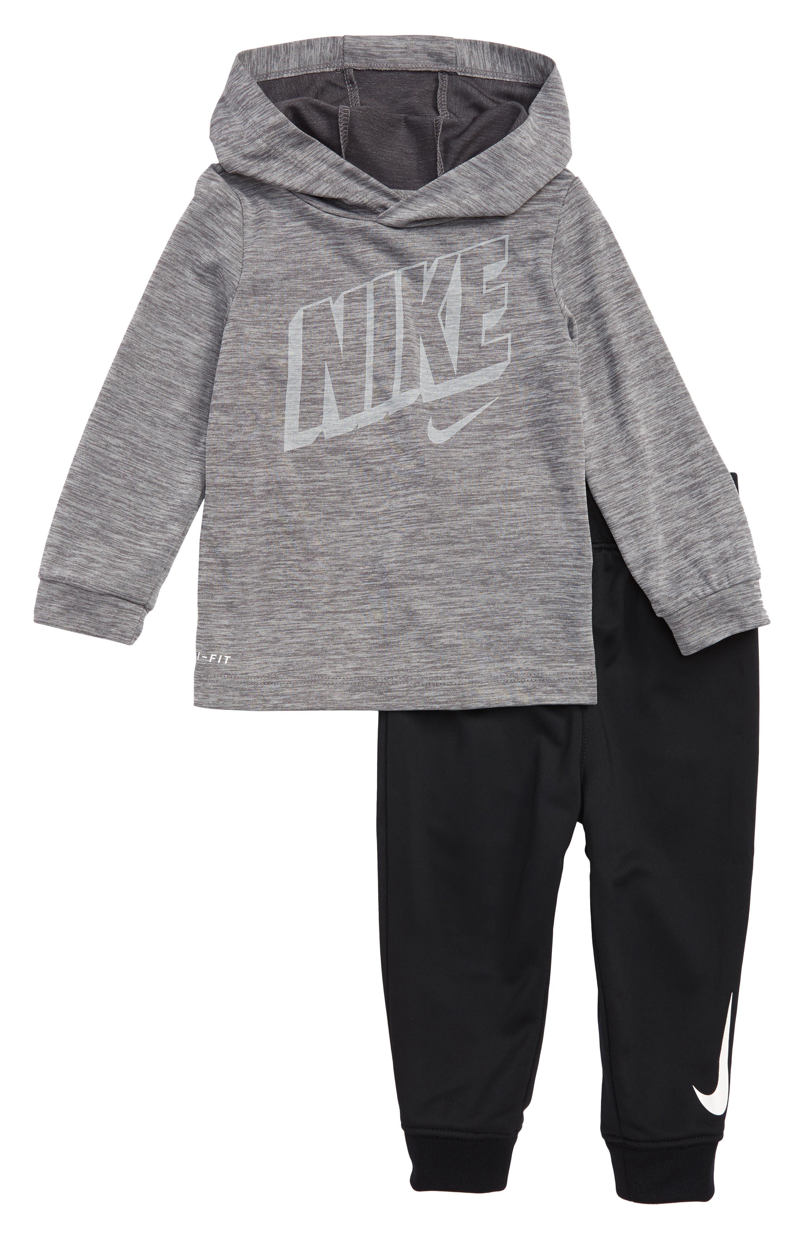 Infant Boys Nike DriFit Hoodie  Jogger Pants Set