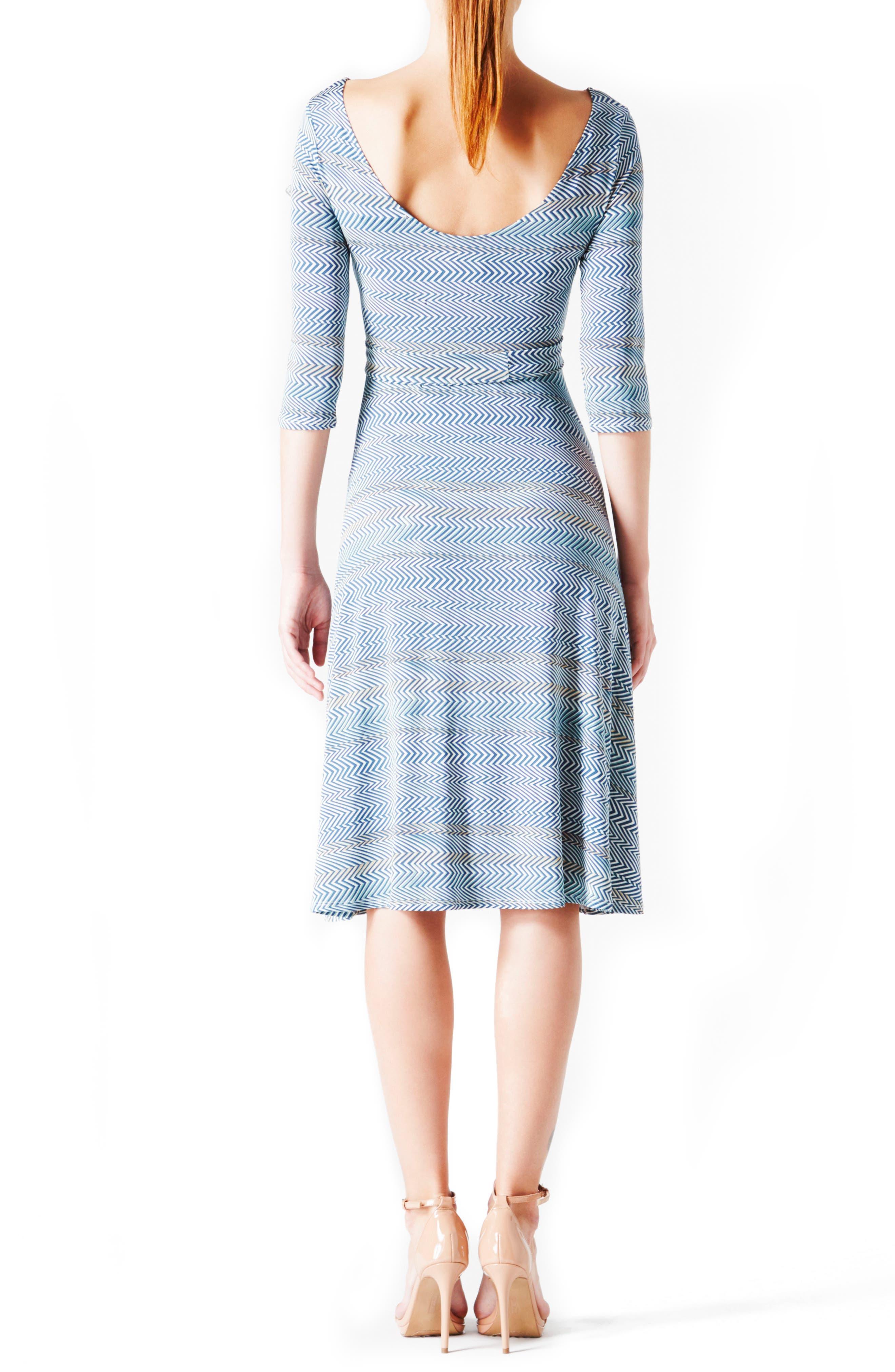 'Ilana' Belted Maternity Dress,                             Alternate thumbnail 25, color,