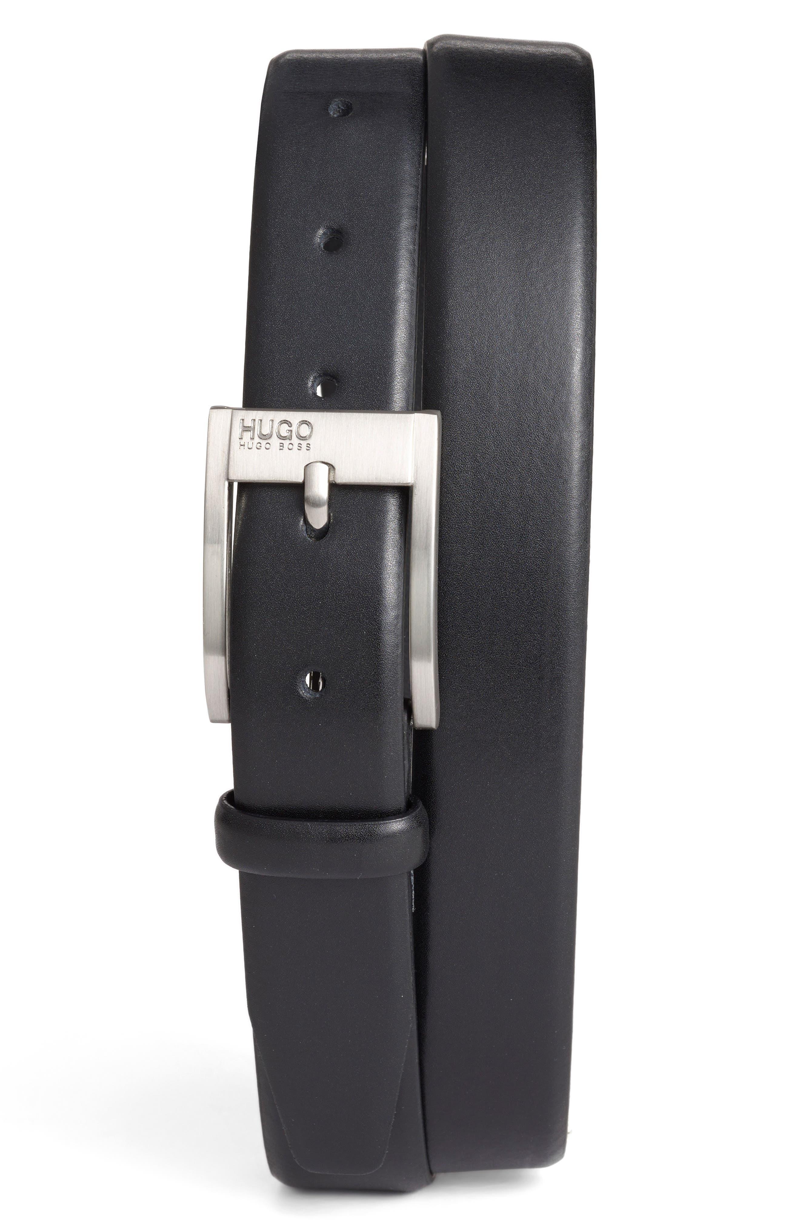 'Brandon' Leather Belt,                             Alternate thumbnail 5, color,