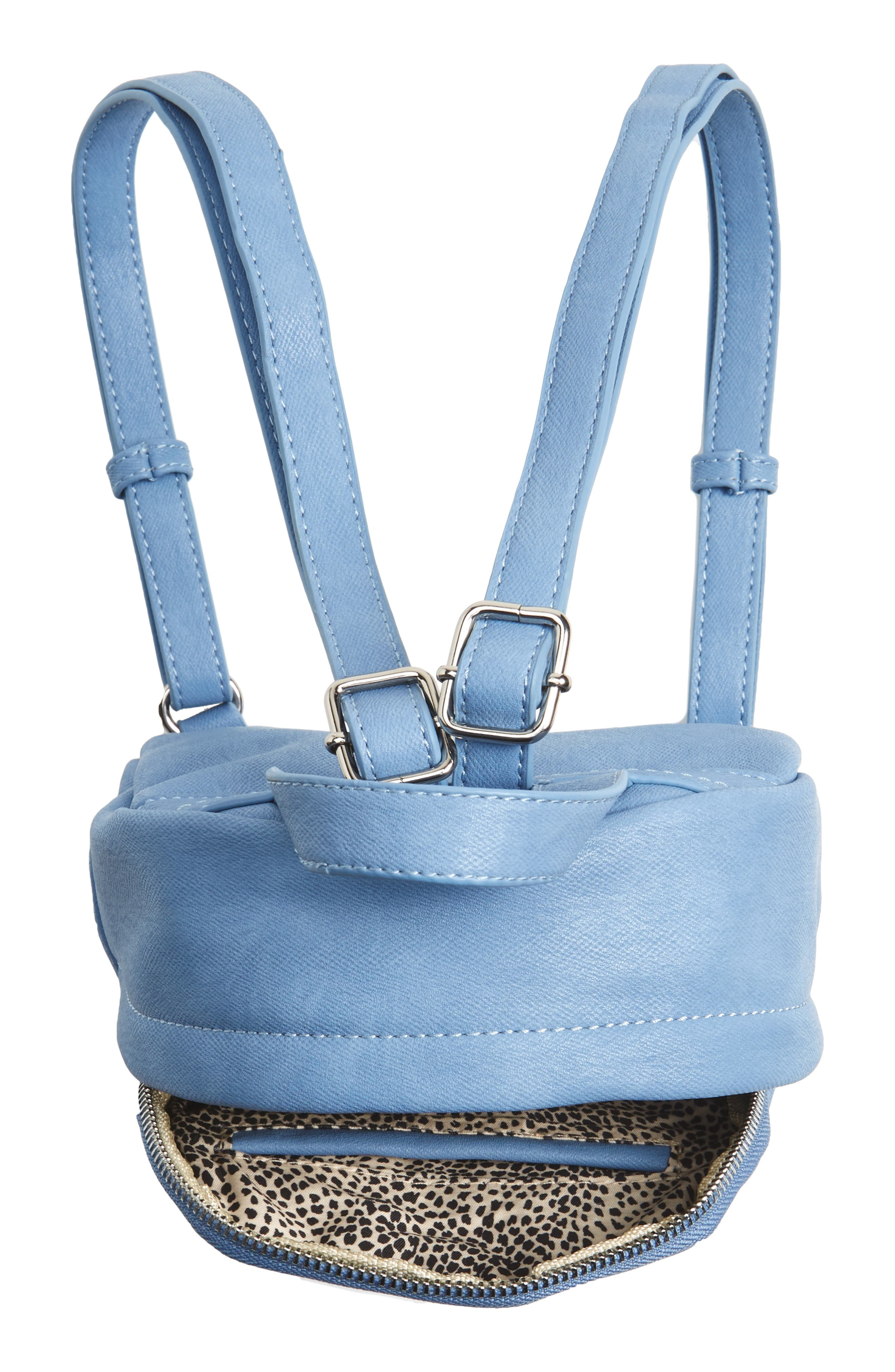 Faux Leather Mini Backpack,                             Alternate thumbnail 27, color,