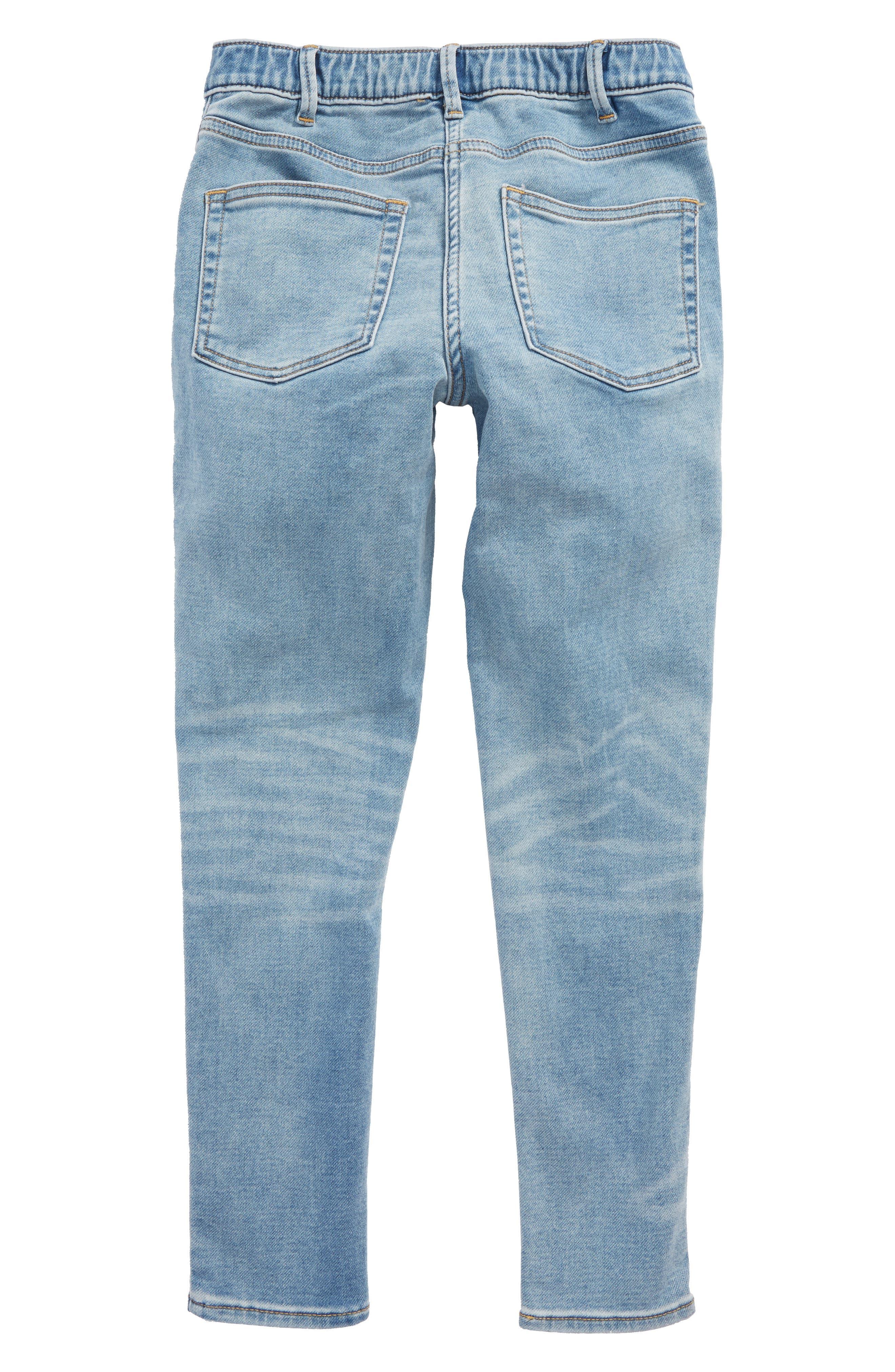 Runaround Stretch Denim Jeans,                             Alternate thumbnail 2, color,                             PATCHWORK WASH