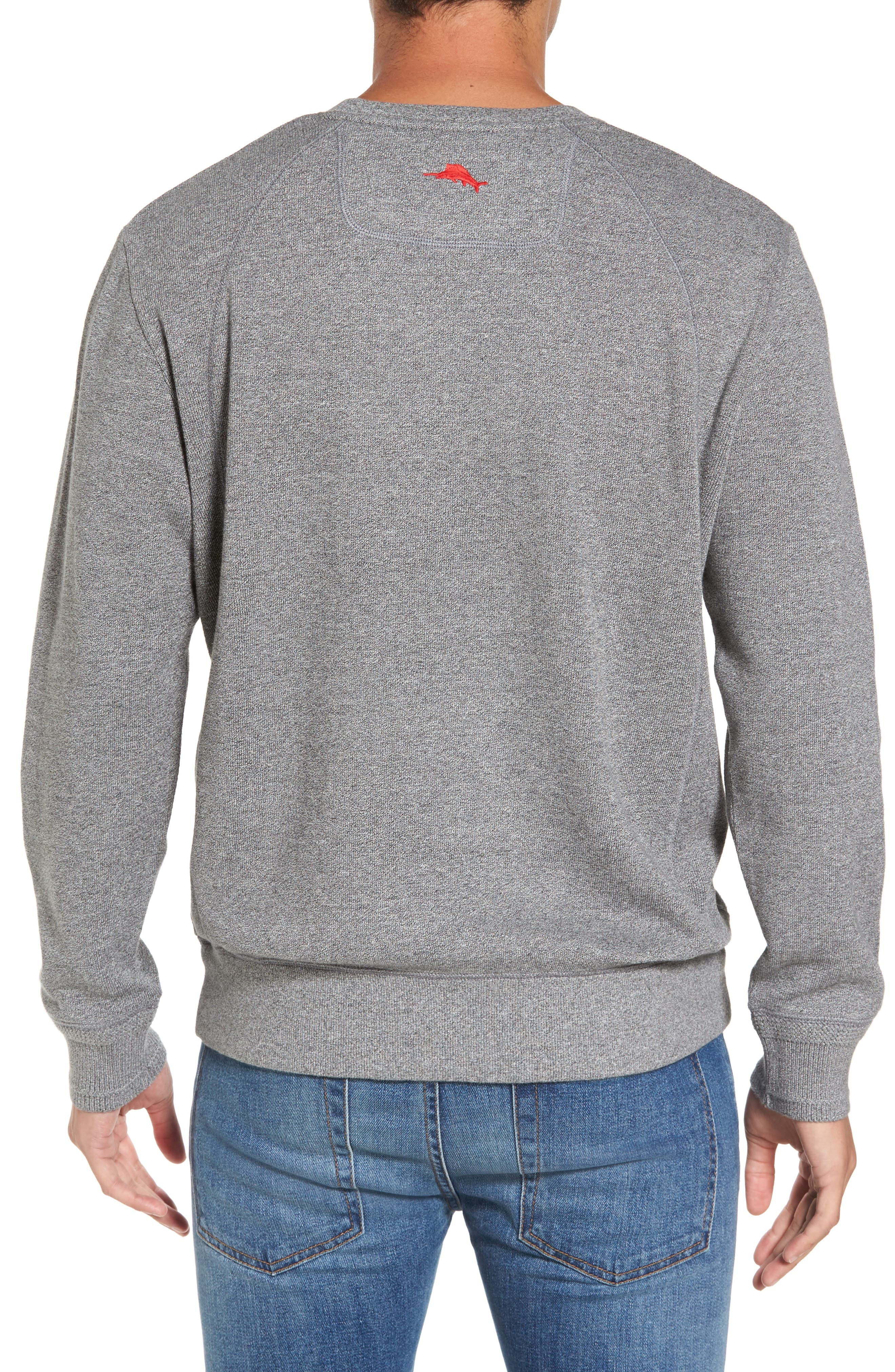 NFL Stitch of Liberty Embroidered Crewneck Sweatshirt,                             Alternate thumbnail 40, color,