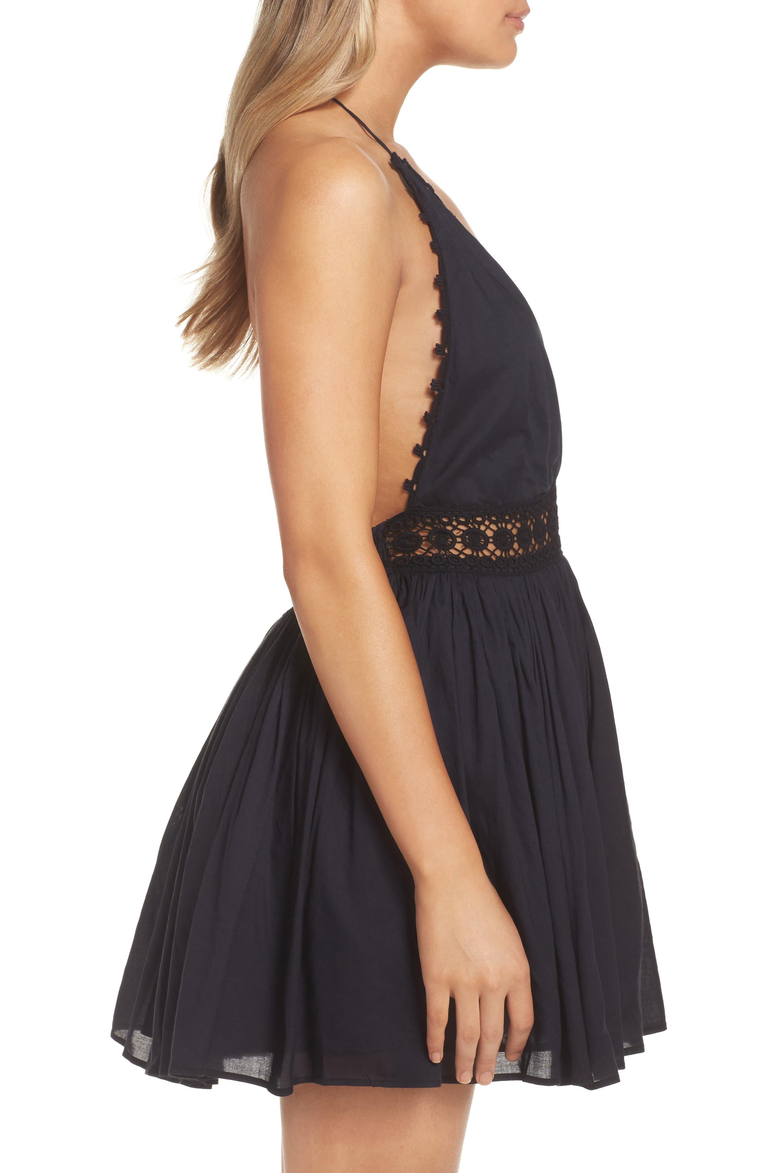 Celeste Cover-Up Dress,                             Alternate thumbnail 3, color,                             001