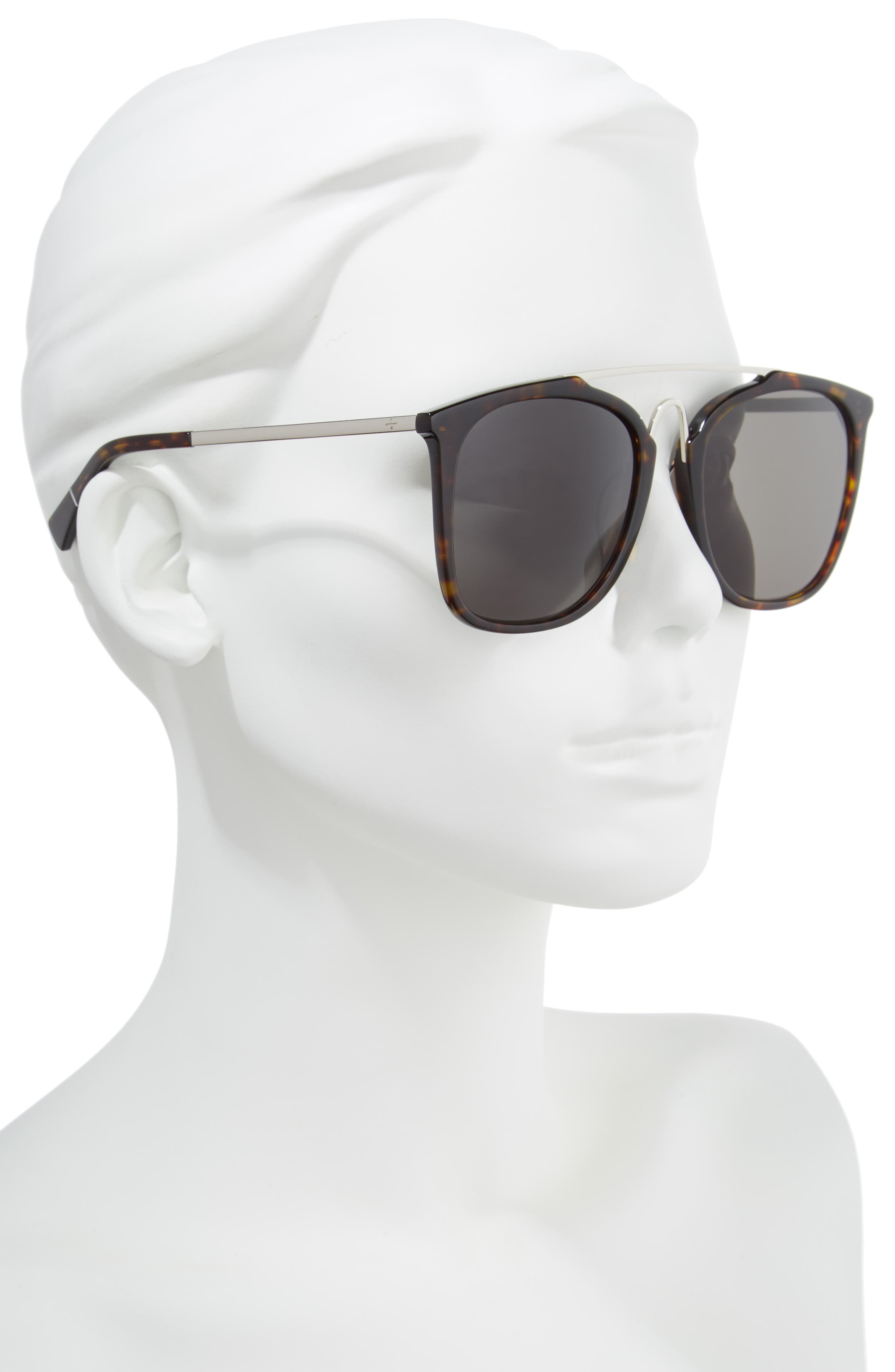 BLANC & ECLARE Bangkok 57mm Polarized Sunglasses,                             Alternate thumbnail 4, color,