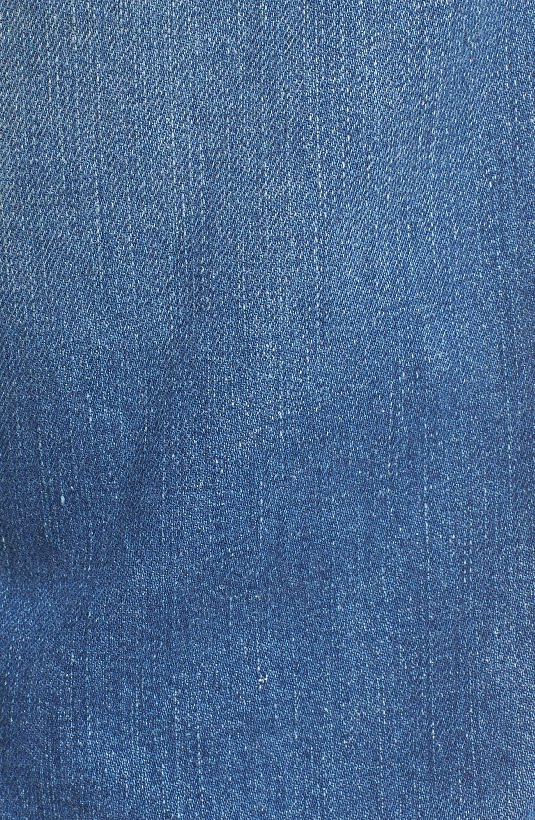 'Zatiny' Bootcut Jeans,                             Alternate thumbnail 6, color,                             400