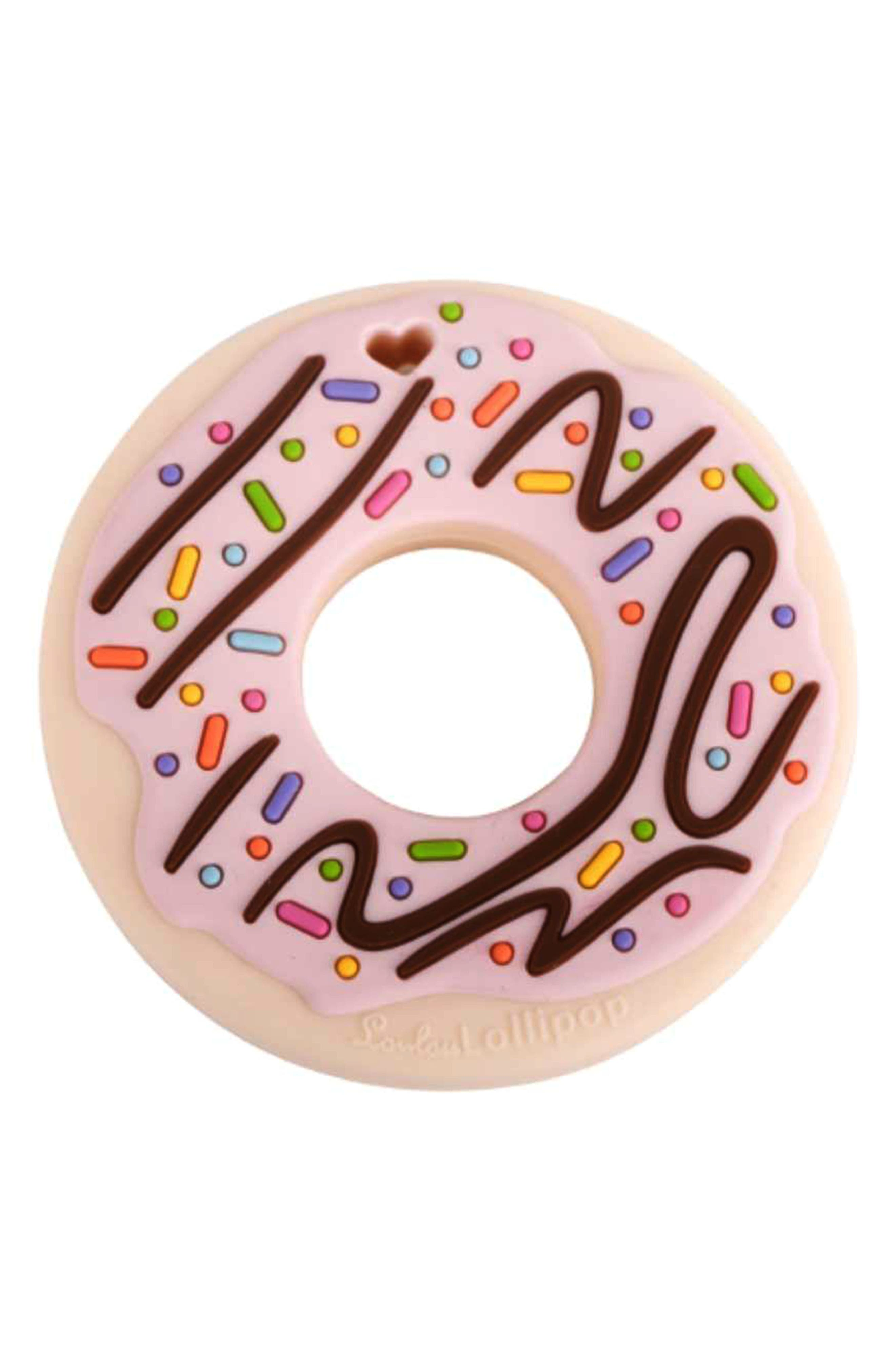 LOULOU LOLLIPOP,                             Donut Teething Toy,                             Alternate thumbnail 2, color,                             650