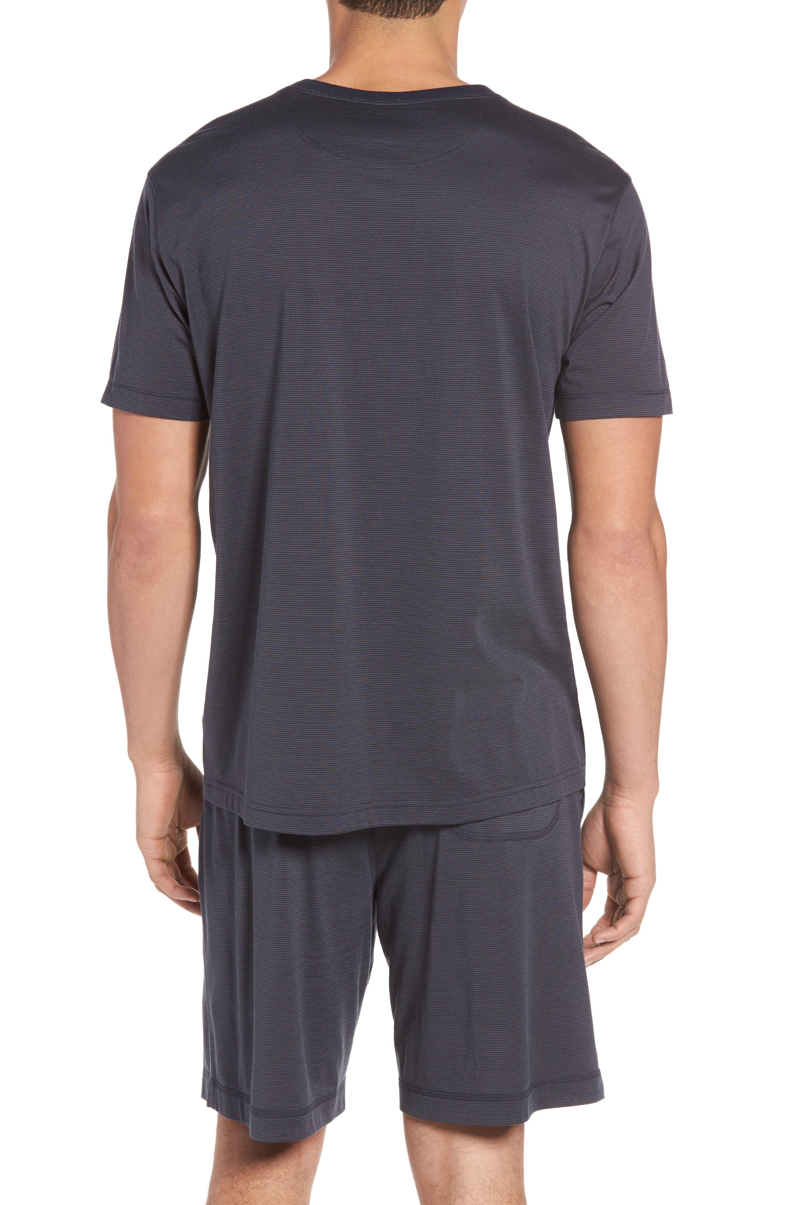 Silk & Cotton Crewneck T-Shirt,                             Alternate thumbnail 2, color,                             068