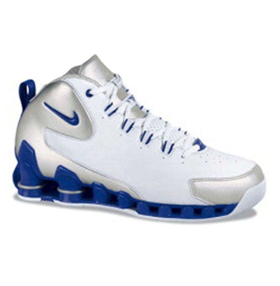 NIKE,                             'Nike Shox VC III' Basketball Shoe,                             Main thumbnail 1, color,                             WBU