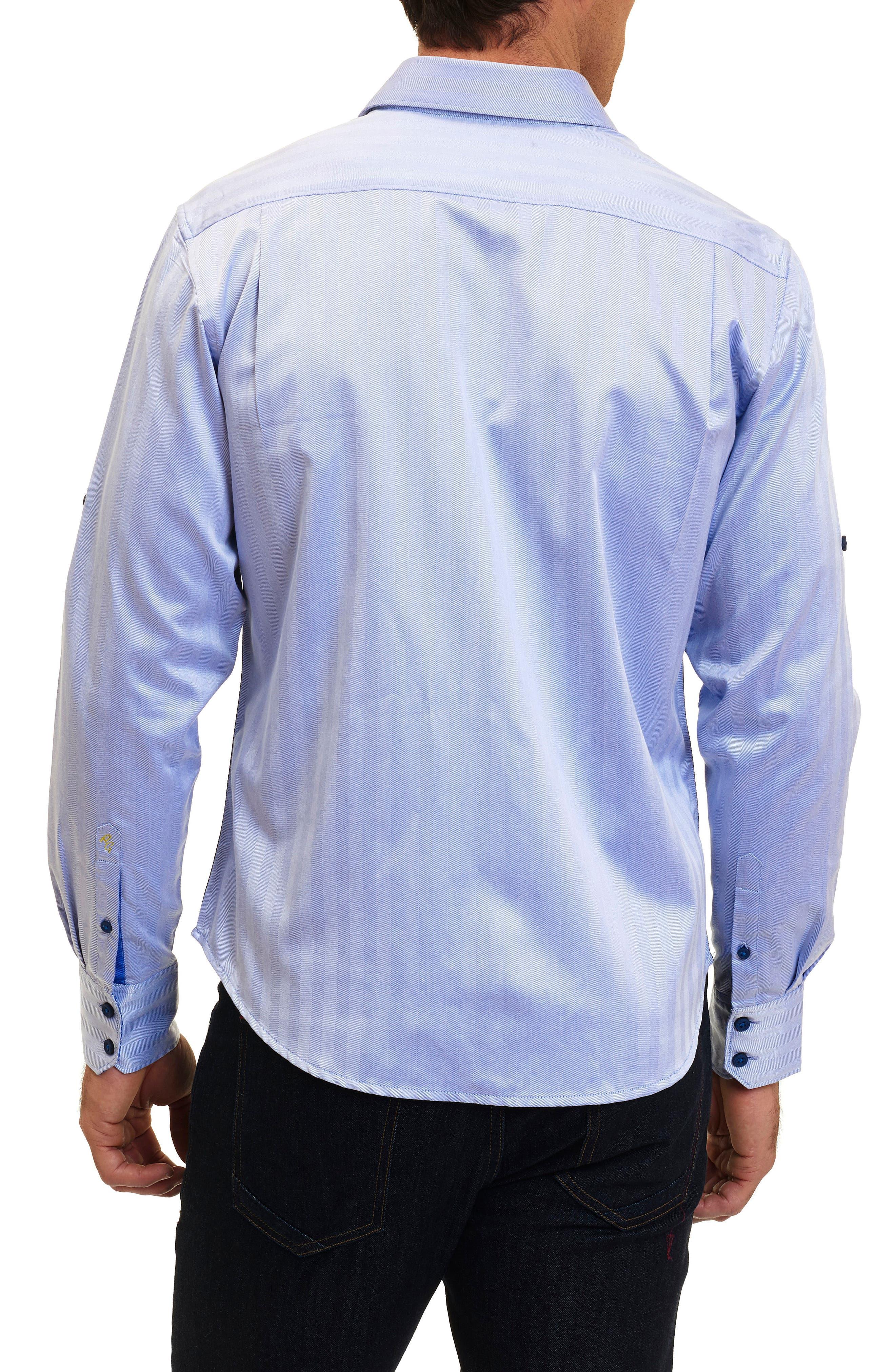 Canton Classic Fit Herringbone Sport Shirt,                             Alternate thumbnail 2, color,                             432