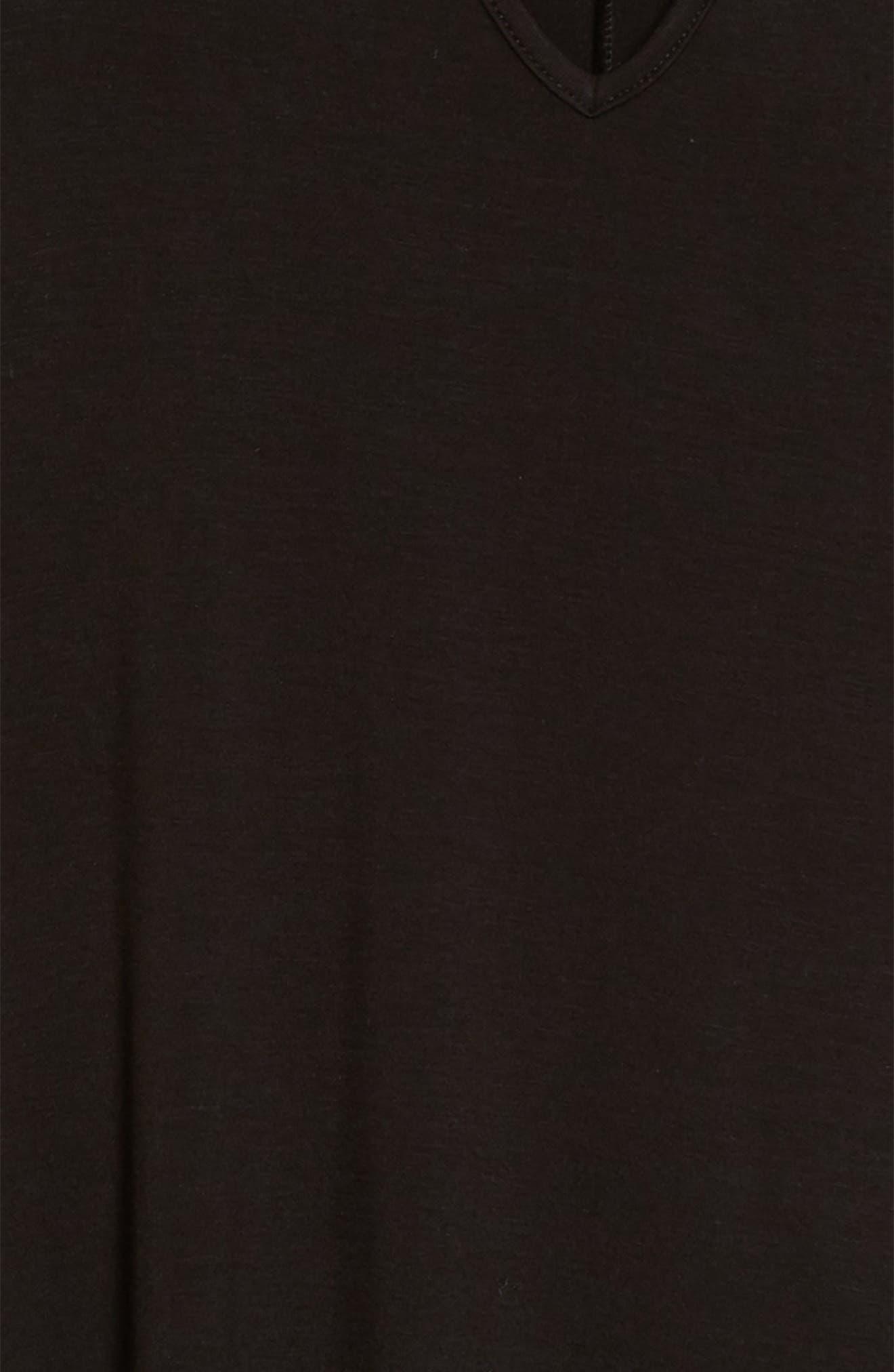 Gigi Knit Swing Dress,                             Alternate thumbnail 3, color,                             001