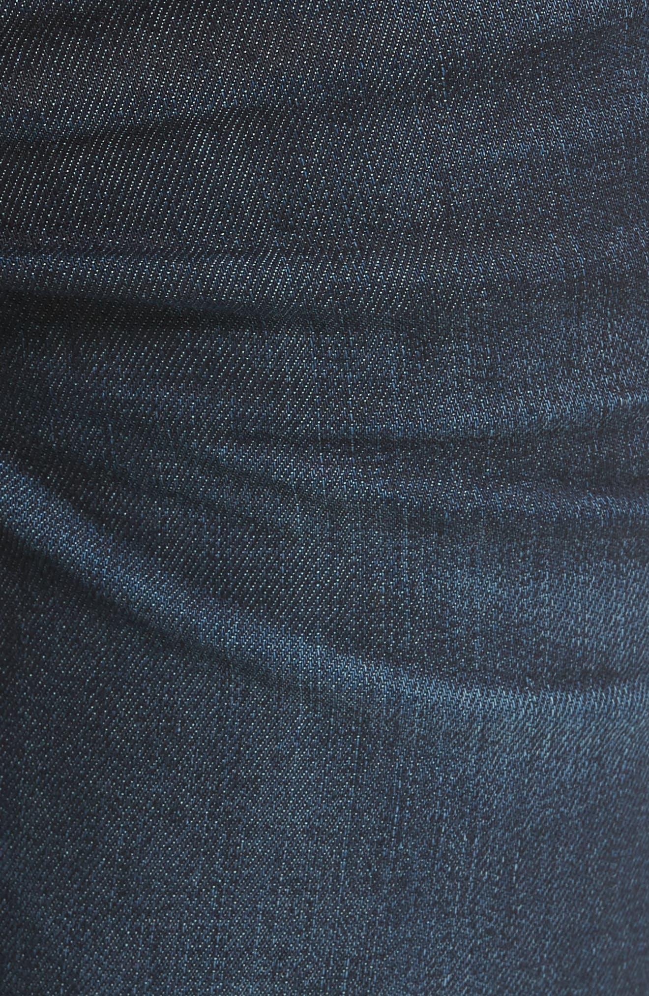 Brixton Slim Straight Leg Jeans,                             Alternate thumbnail 5, color,                             430
