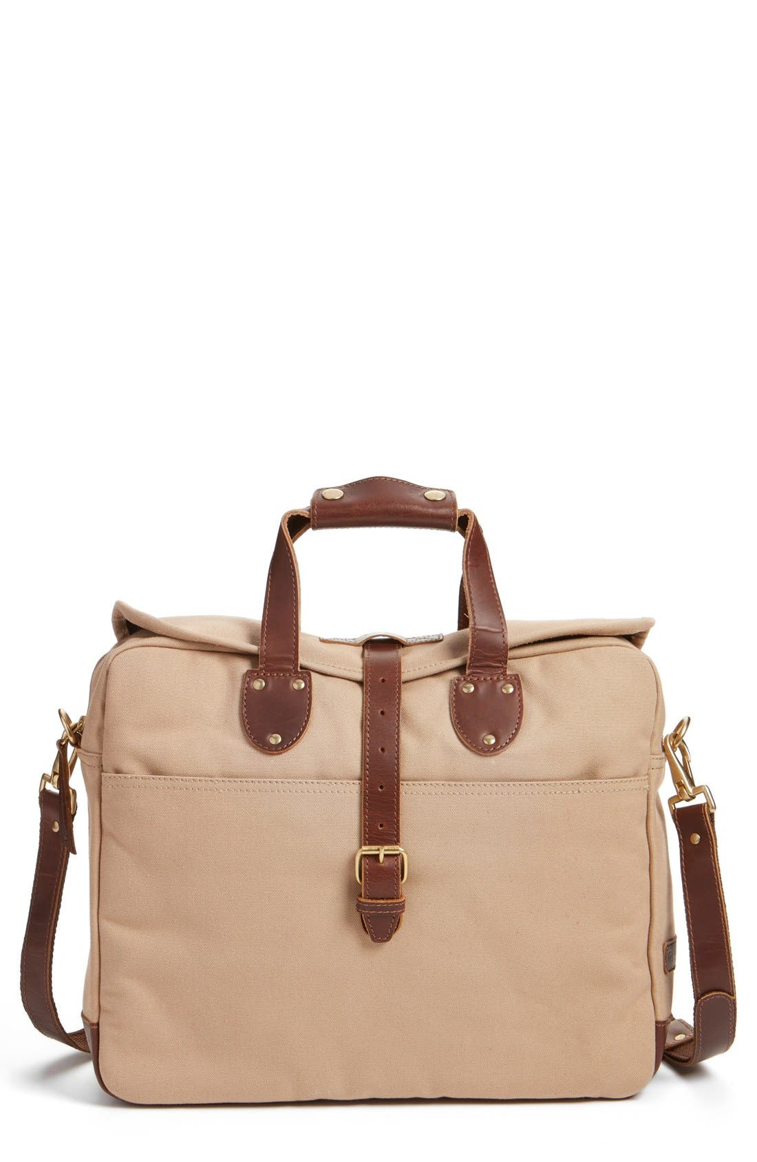 'Lakeland' Laptop Bag,                             Main thumbnail 1, color,                             TAN