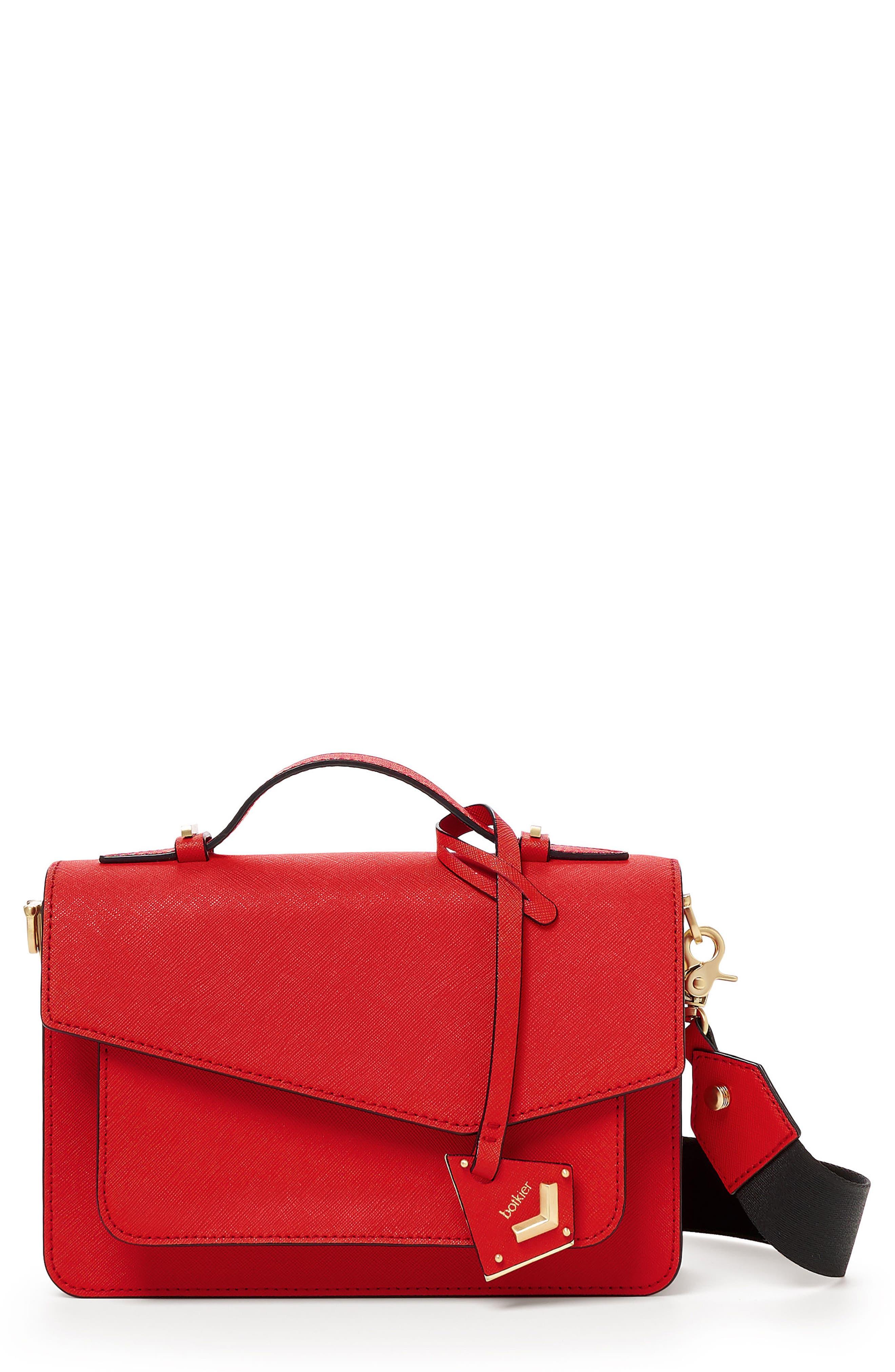 Cobble Hill Leather Crossbody Bag,                             Main thumbnail 15, color,