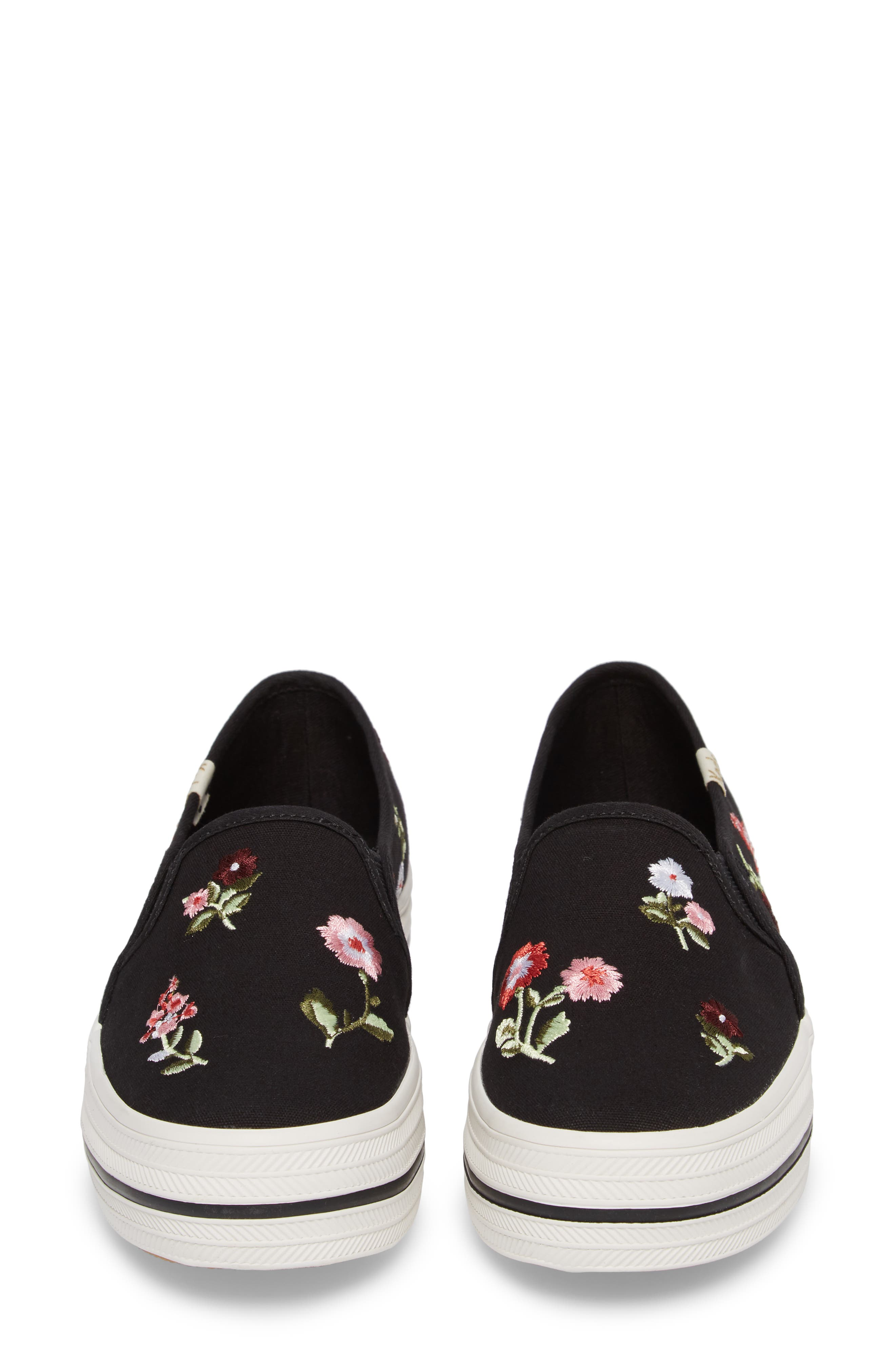 Keds<sup>®</sup> x kate spade Triple Decker Slip-On Sneaker,                             Alternate thumbnail 8, color,