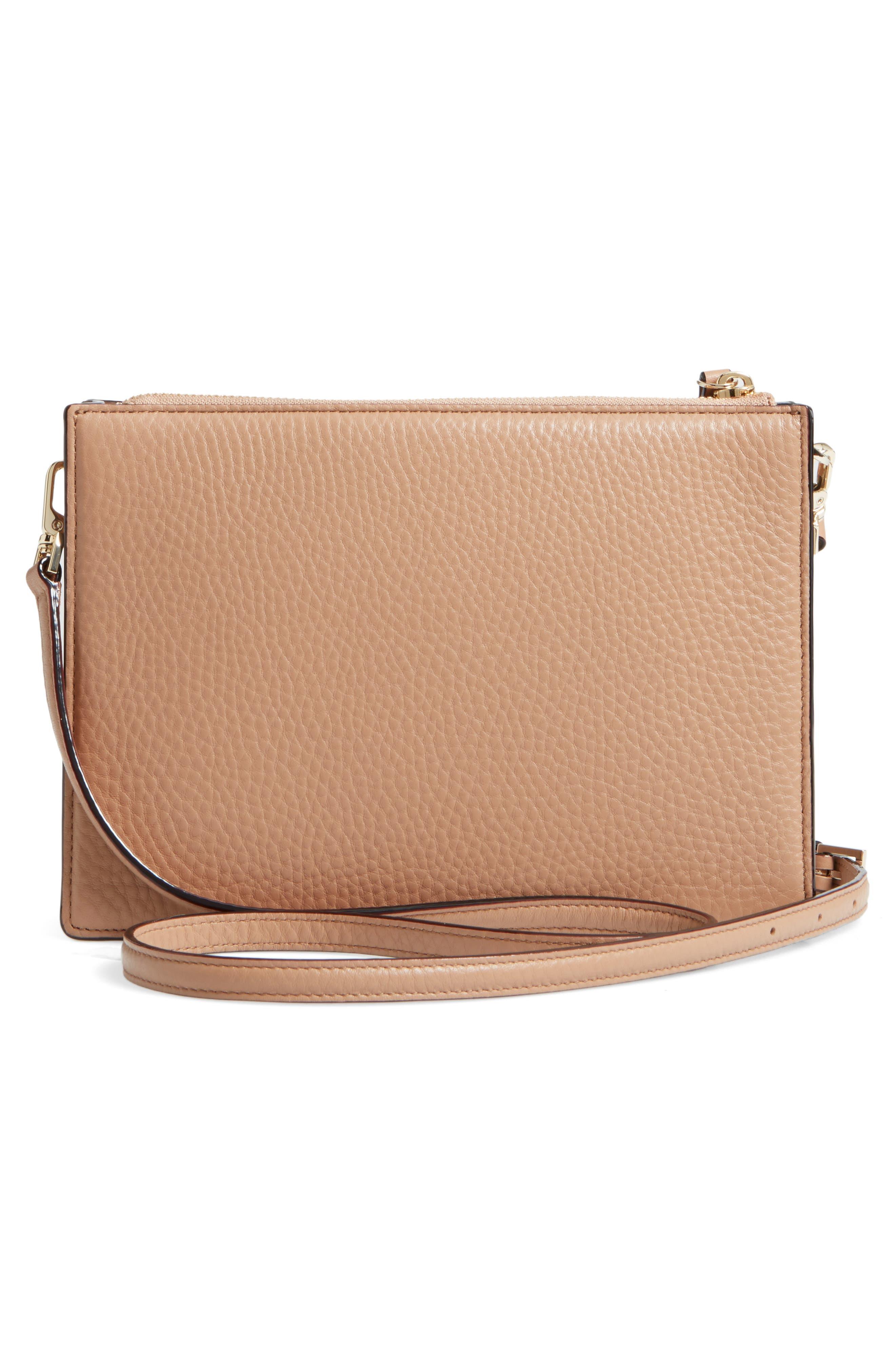 steward street clarise leather shoulder bag,                             Alternate thumbnail 8, color,