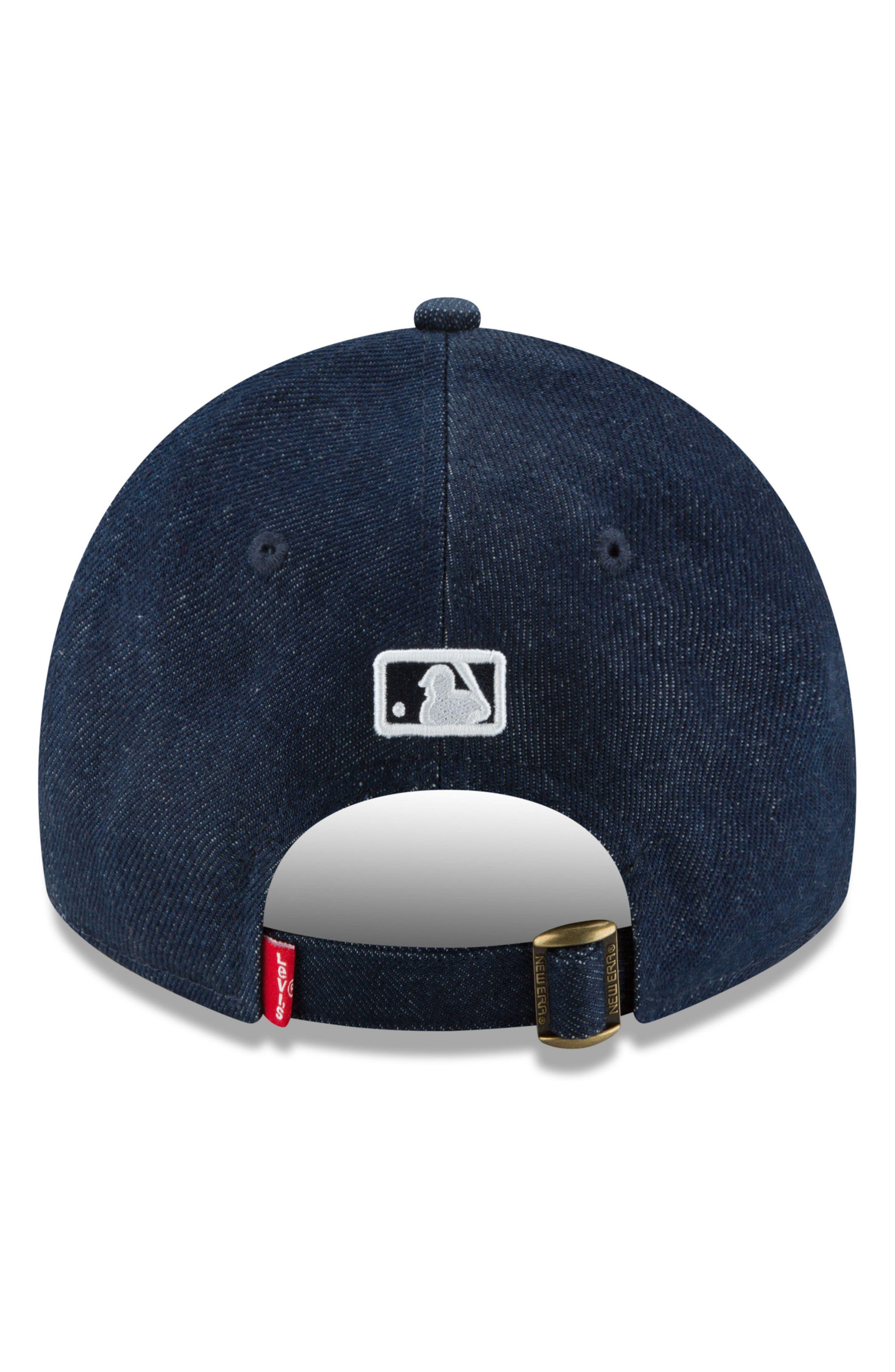 x Levi's<sup>®</sup> Dark Wash Baseball CAp,                             Alternate thumbnail 4, color,                             CHICAGO CUBS