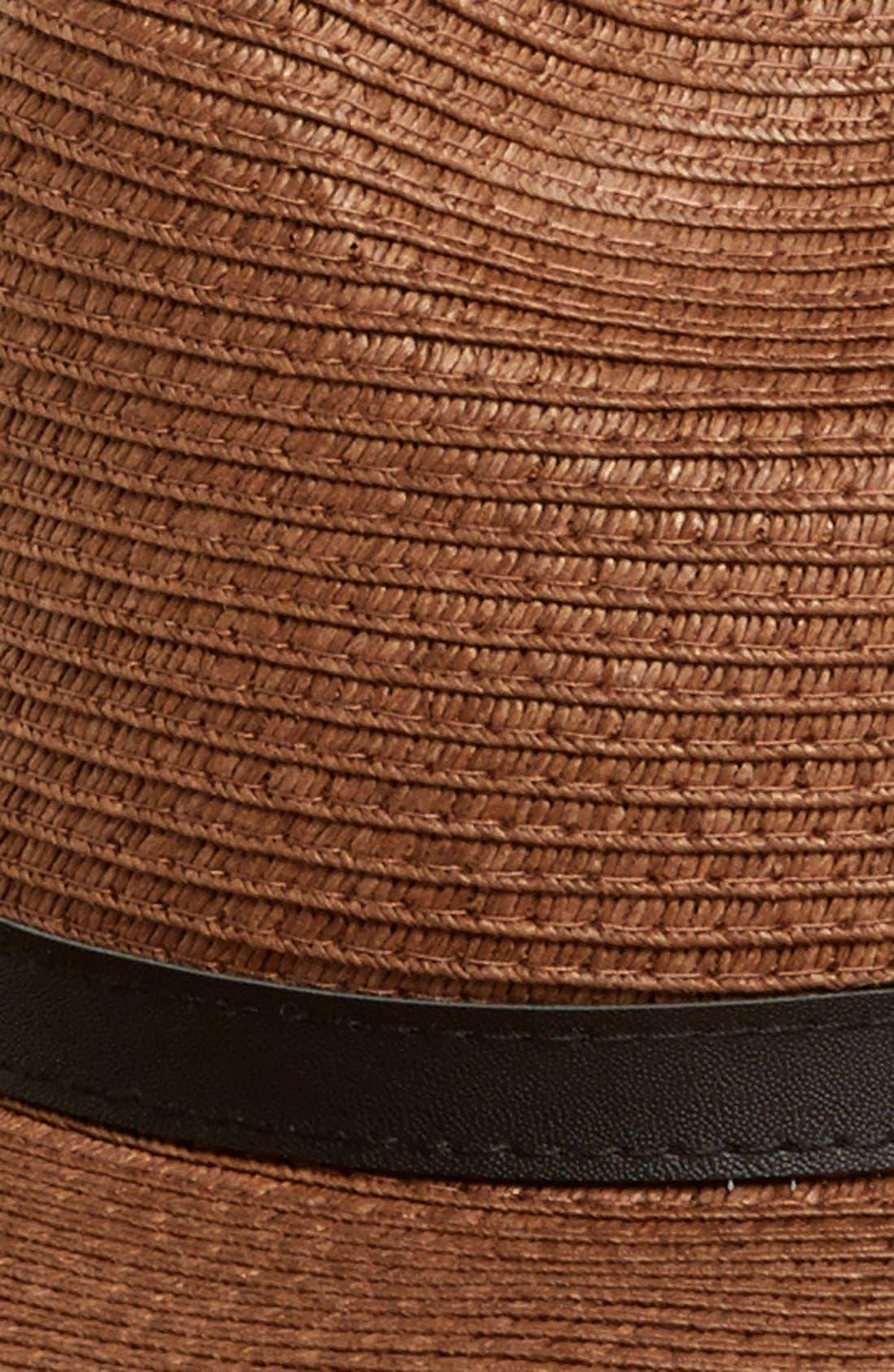 BP.,                             Straw Panama Hat,                             Alternate thumbnail 2, color,                             200