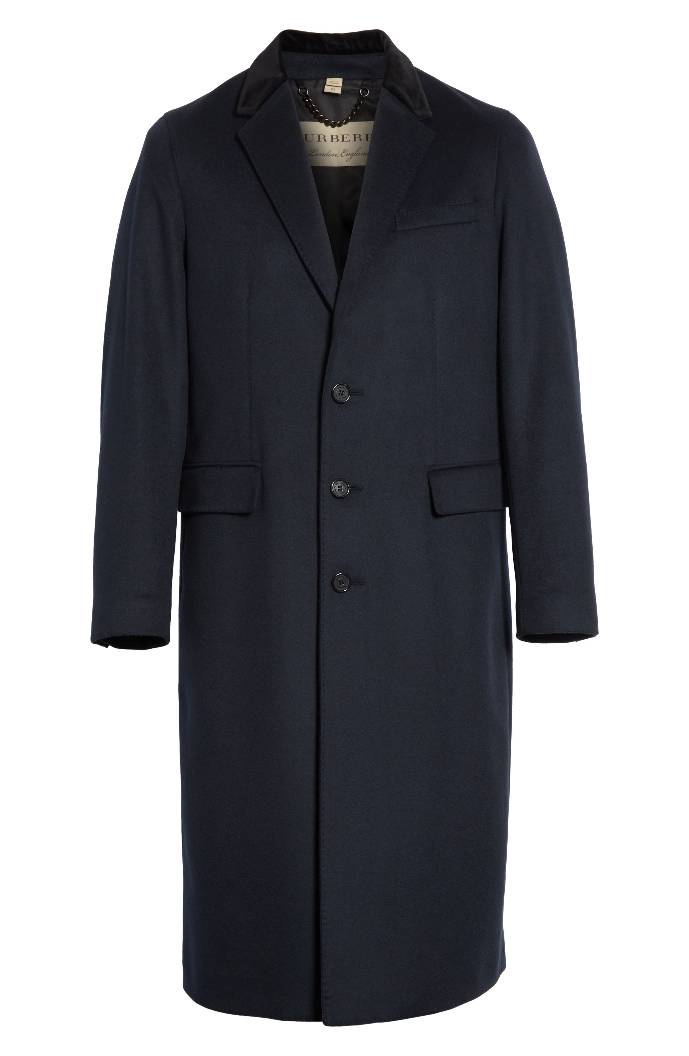 Flynn Wool & Cashmere Topcoat,                             Alternate thumbnail 5, color,                             410