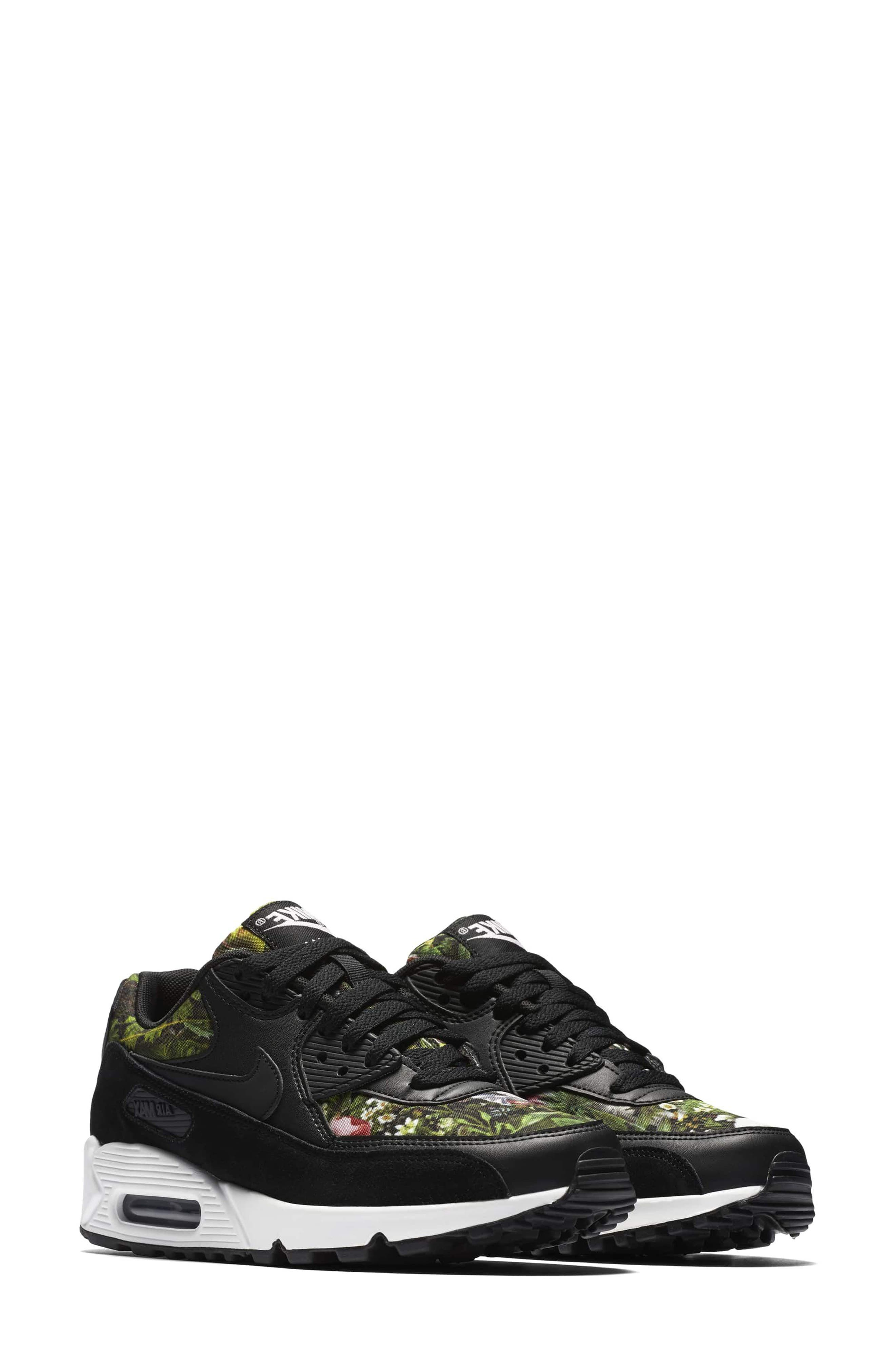 Air Max 90 SE Sneaker,                             Main thumbnail 4, color,